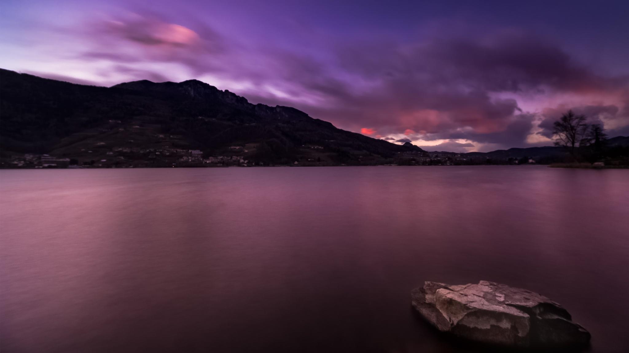 Pink Blue Hour by Cristina Geier