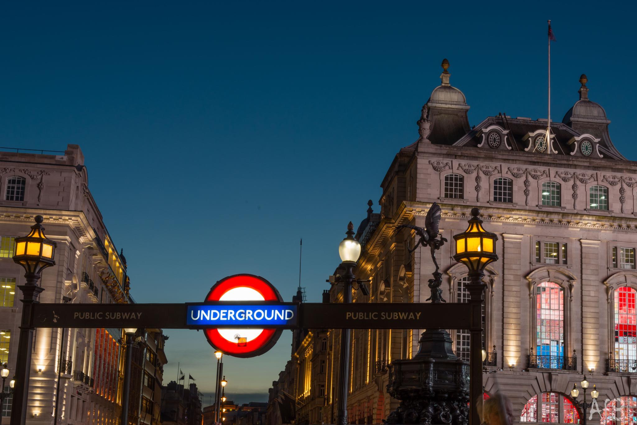 Underground by Adrian