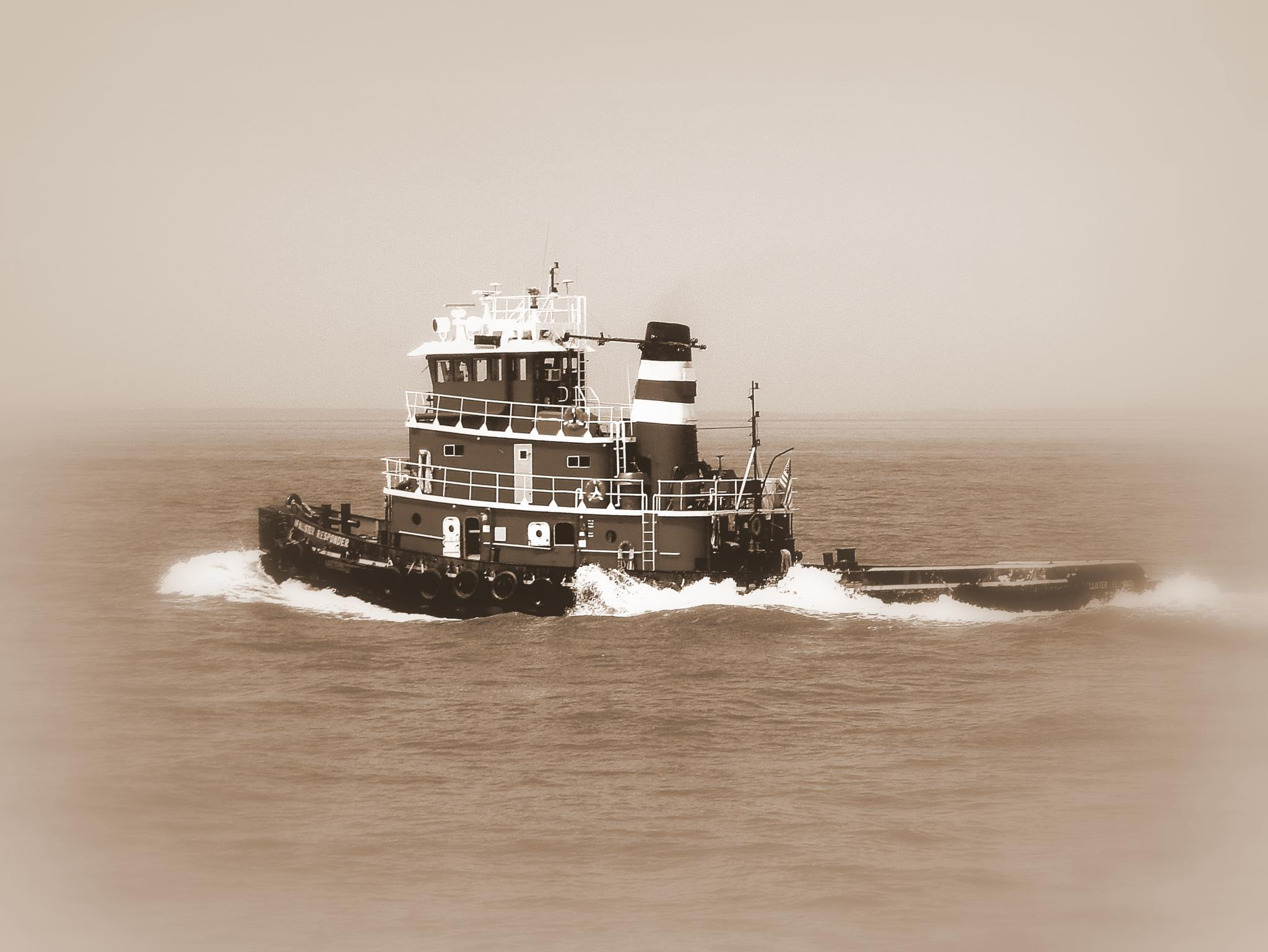 Photo in Landscape #steamboat willy #tugboat #tug boat
