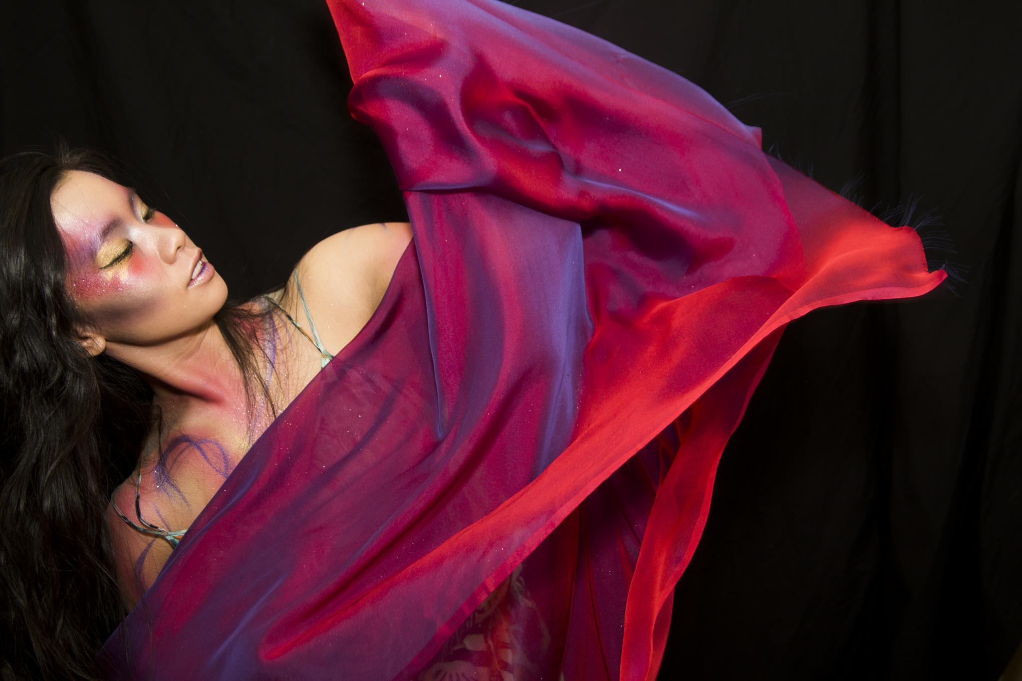 Makeup & Materiality: Maria by Jennifer Vatza
