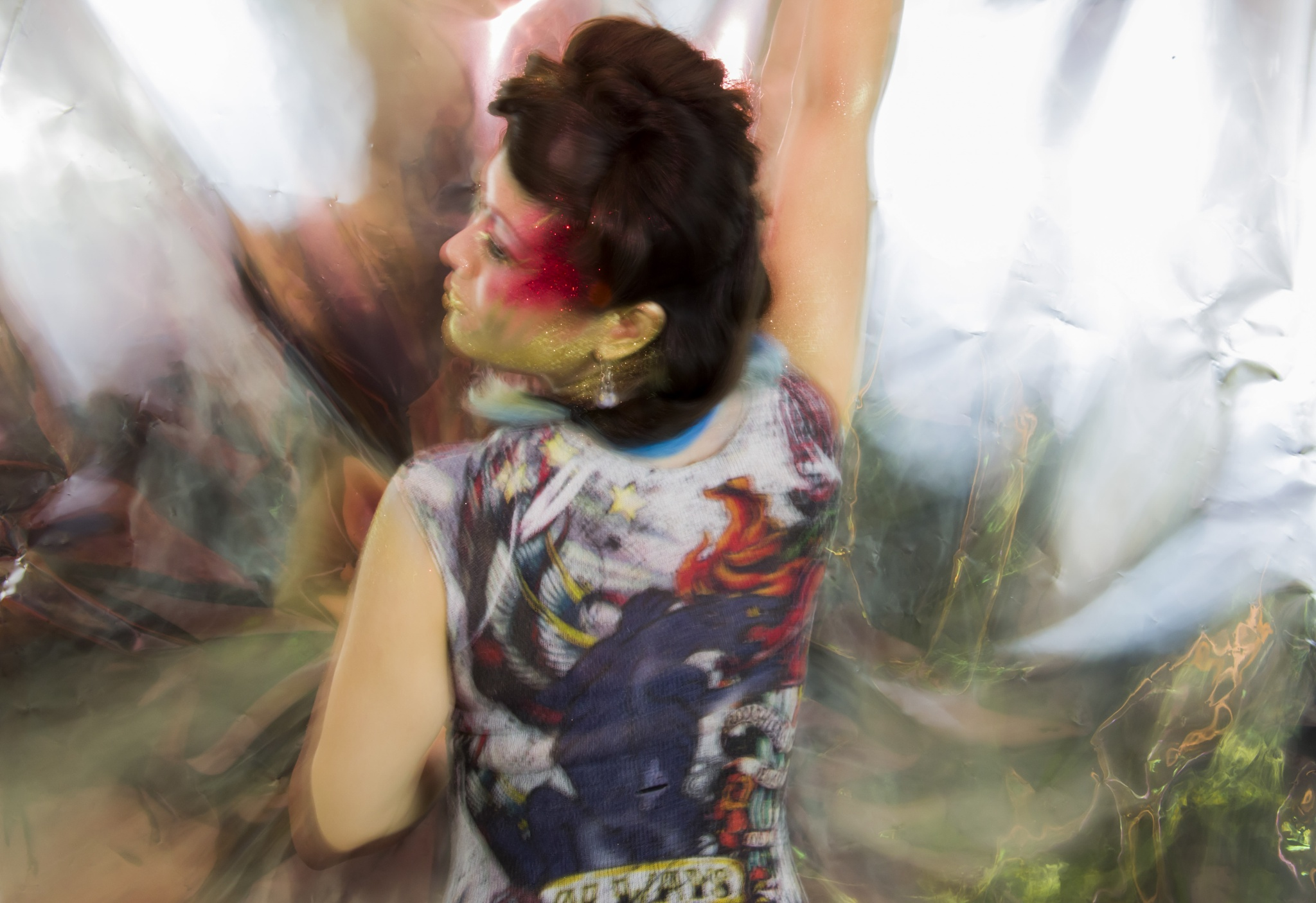 Makeup & Materiality: Susan by Jennifer Vatza