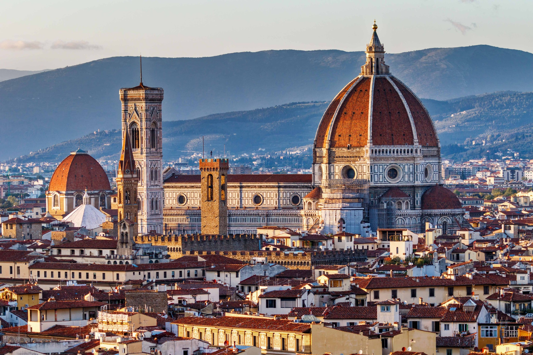 Sunset over the Duomo by Boris Droutman