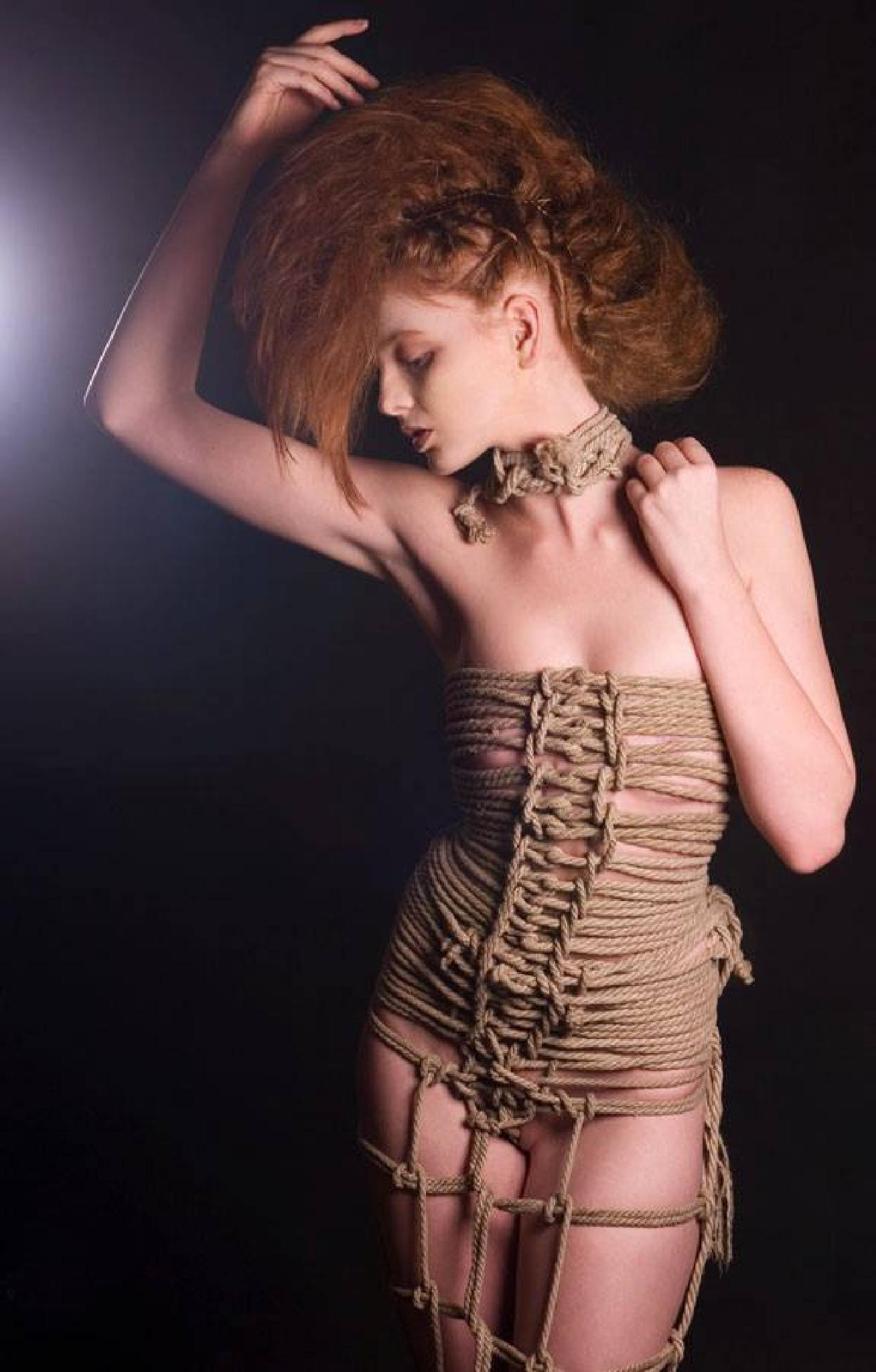 Rope Dress by Joi Carey