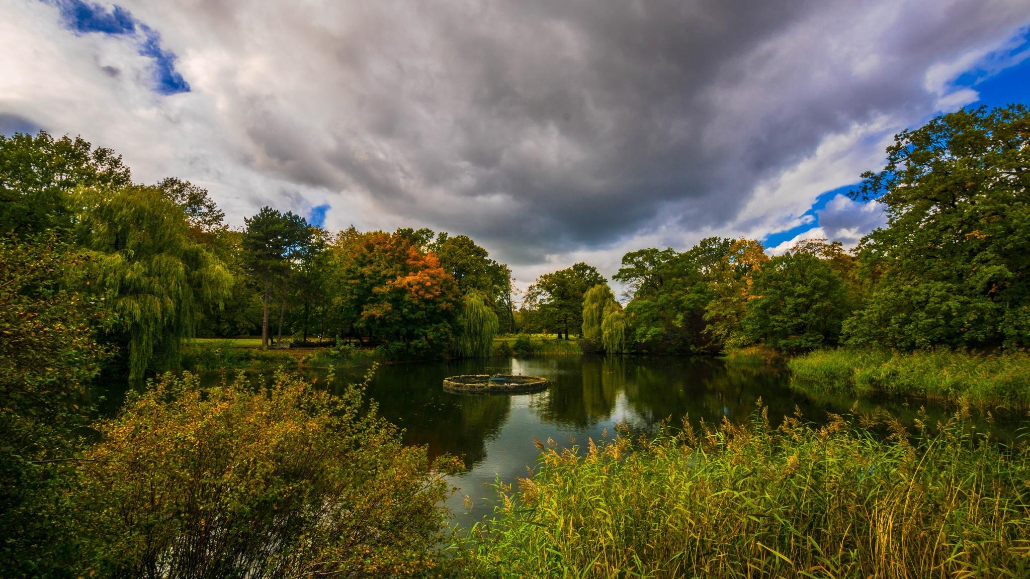 German Autumn  by Walter W. Price