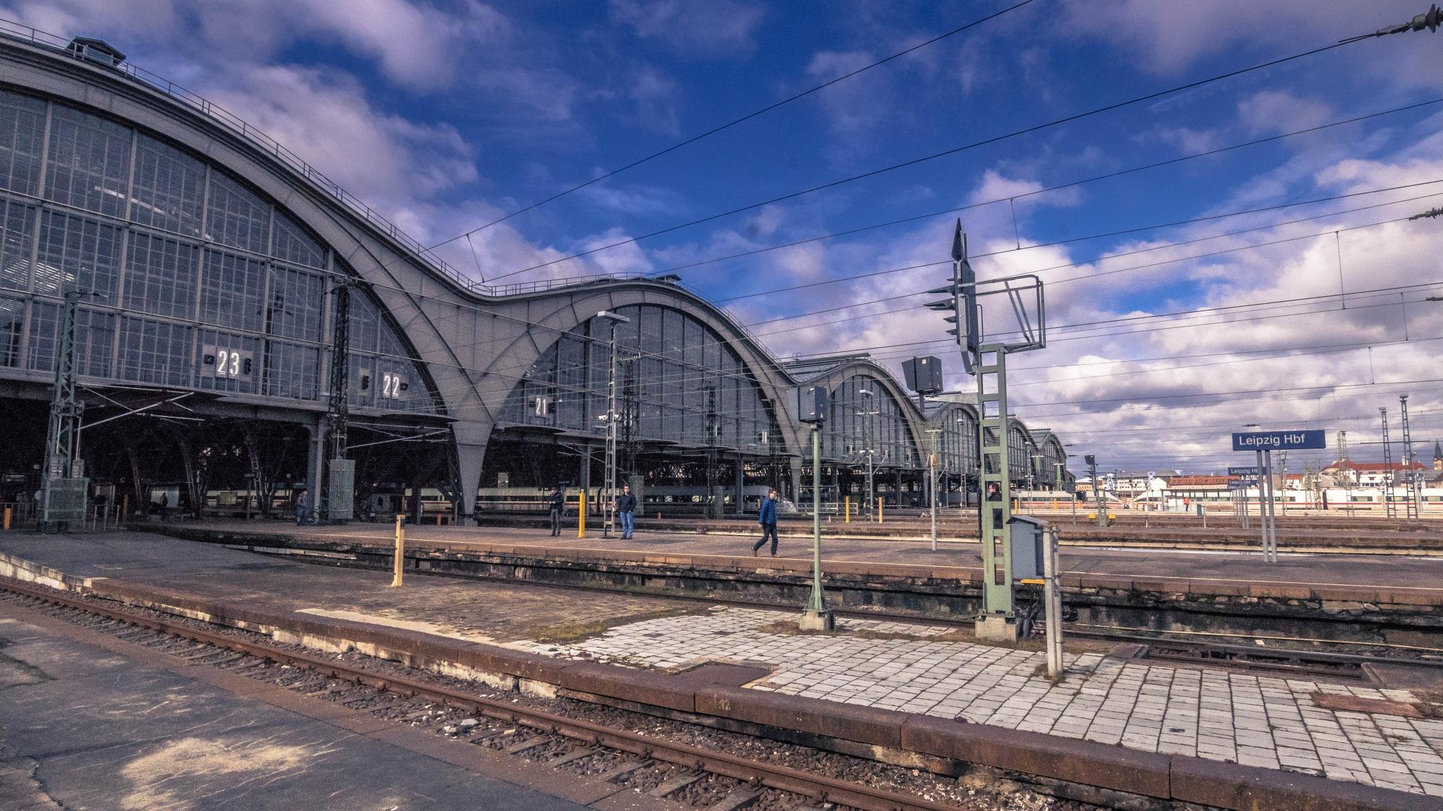 train station by Walter W. Price