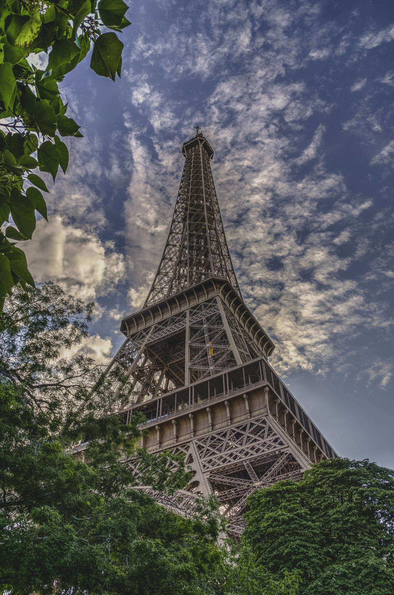 The Eiffel Tower by andinegerard