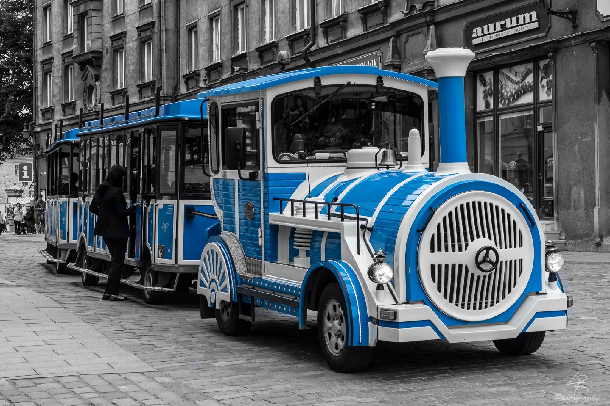 Blue Train by Leo Rantala