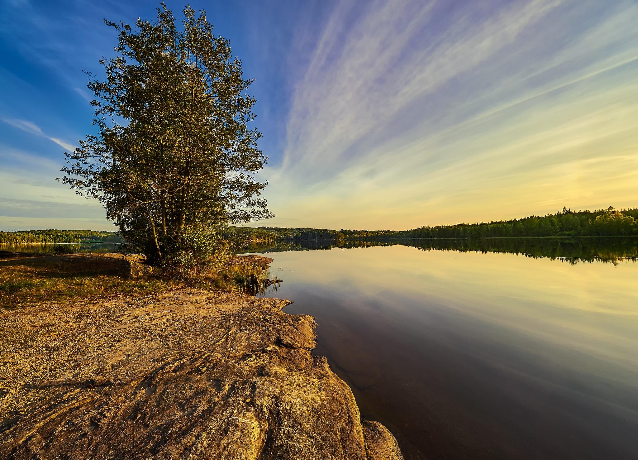 September sunset. by tlovh