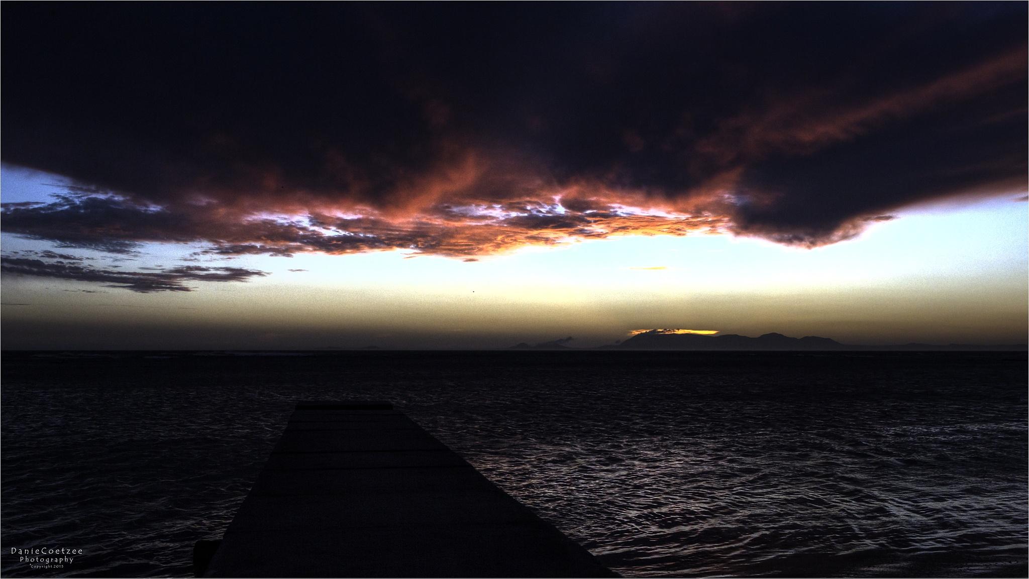 Sunset - False Bay by dctze