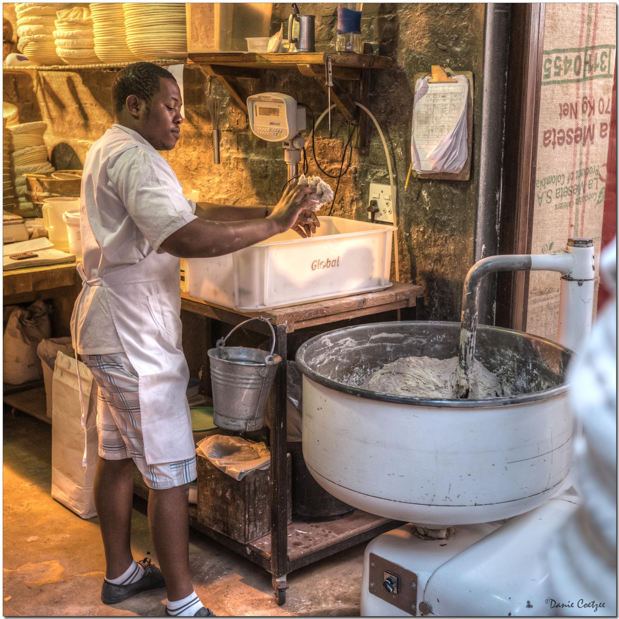 Making bread by dctze