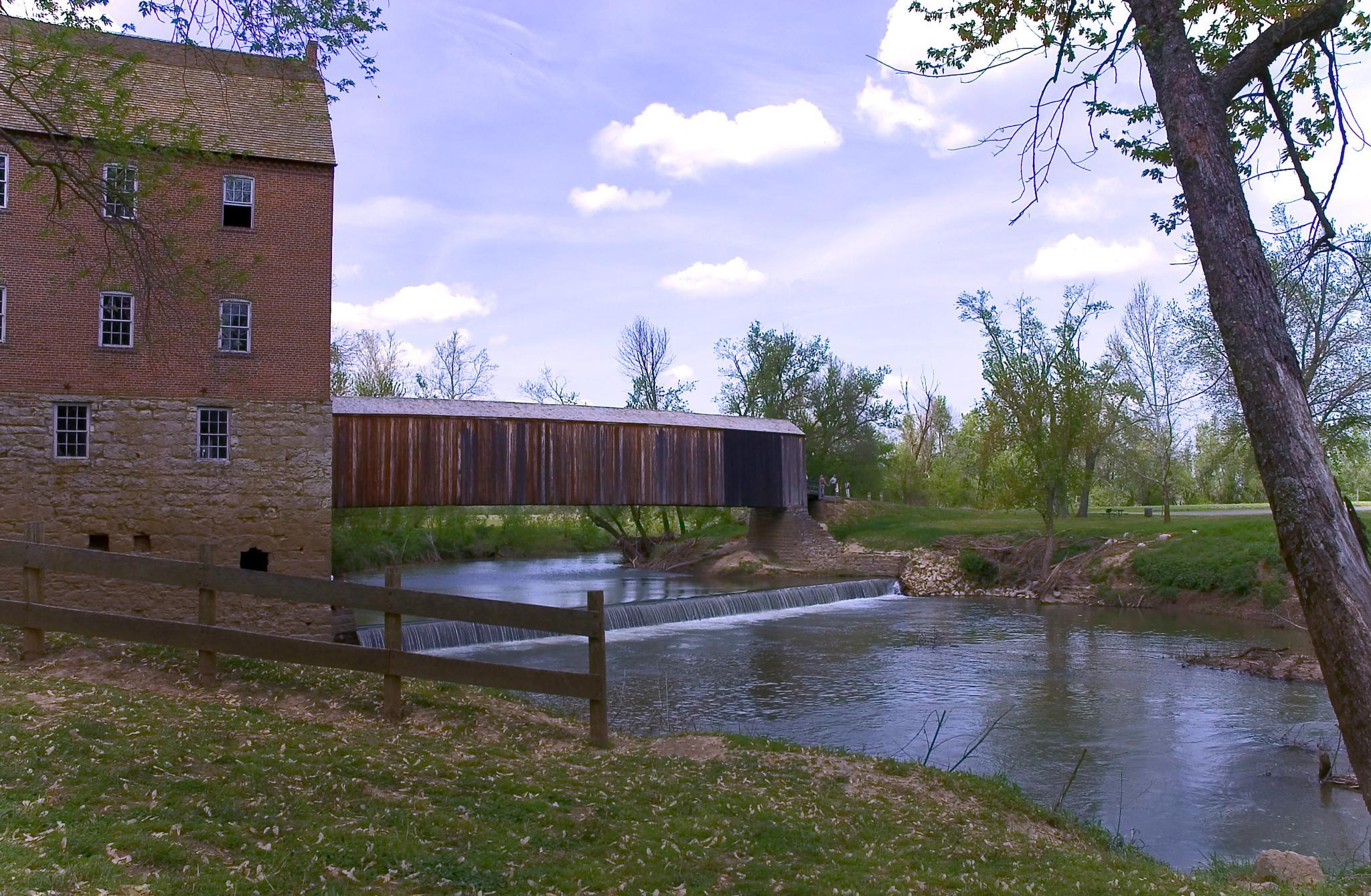 Photo in Architecture #bridges #mills #missouri #river'