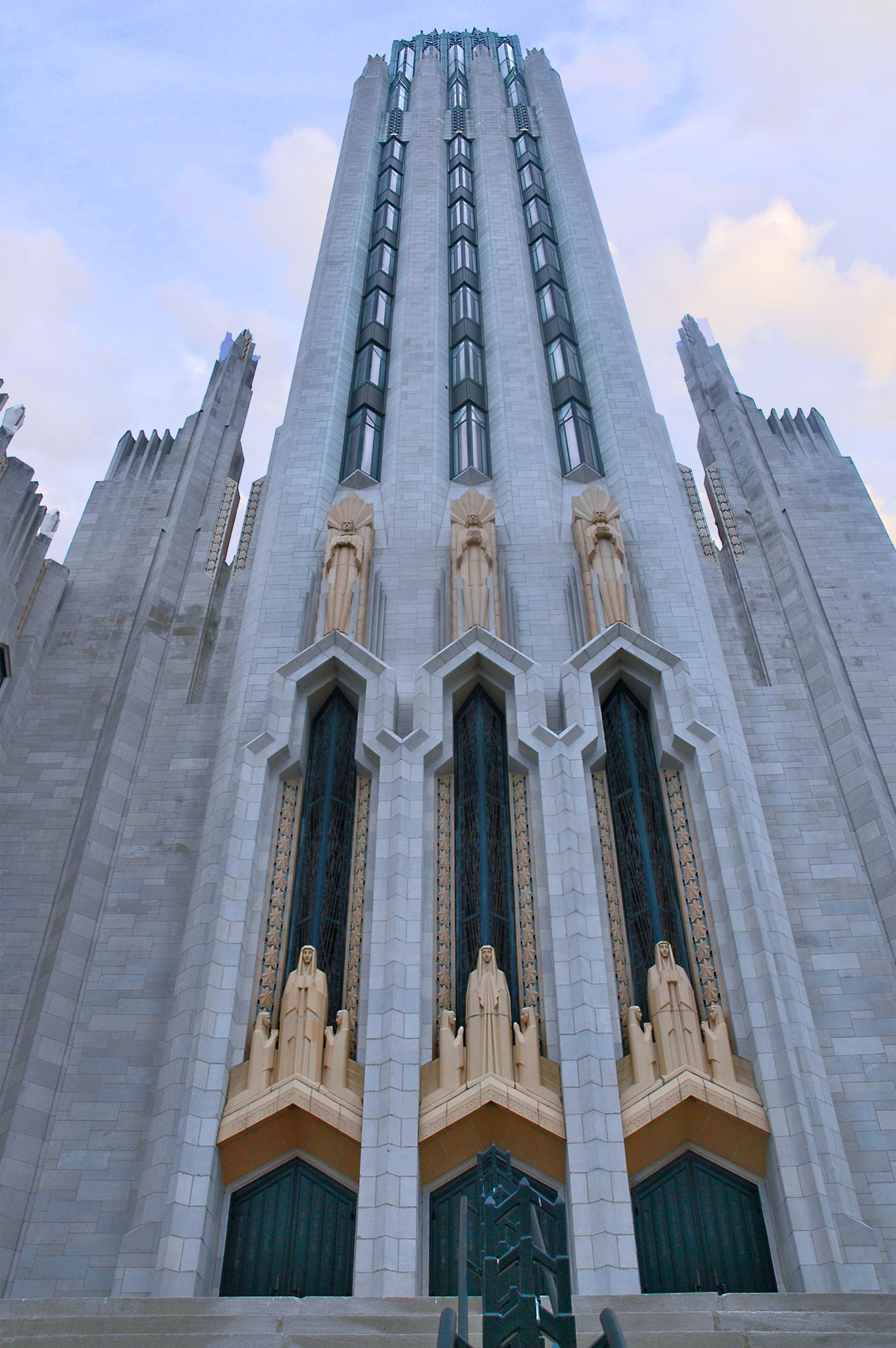 First Methodist Church. Tulsa,Oklahoma by Layne Adams