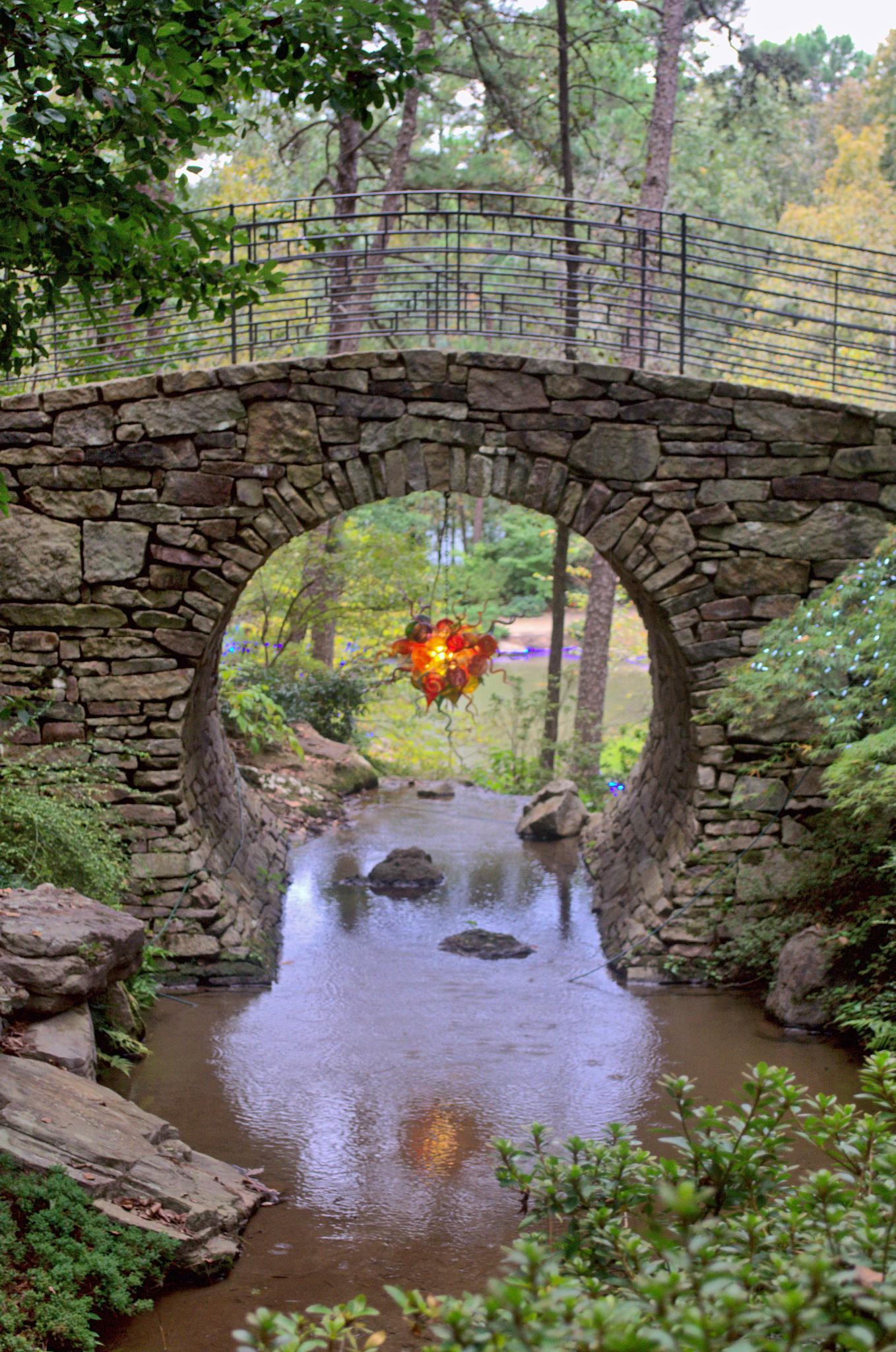 Garvin Gardens. Hot Springs,Arkansas by Layne Adams