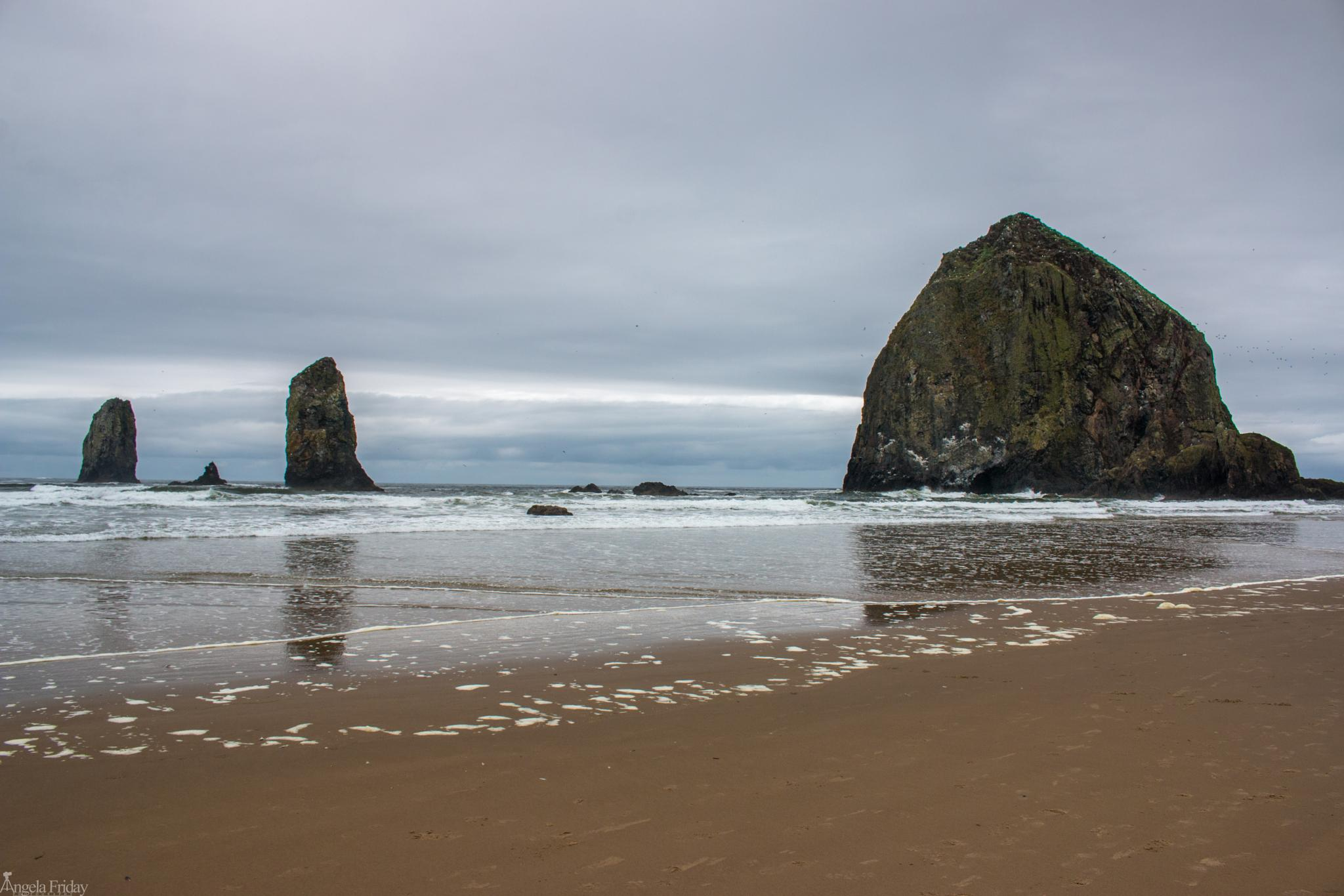 Canon Beach by Angela Friday