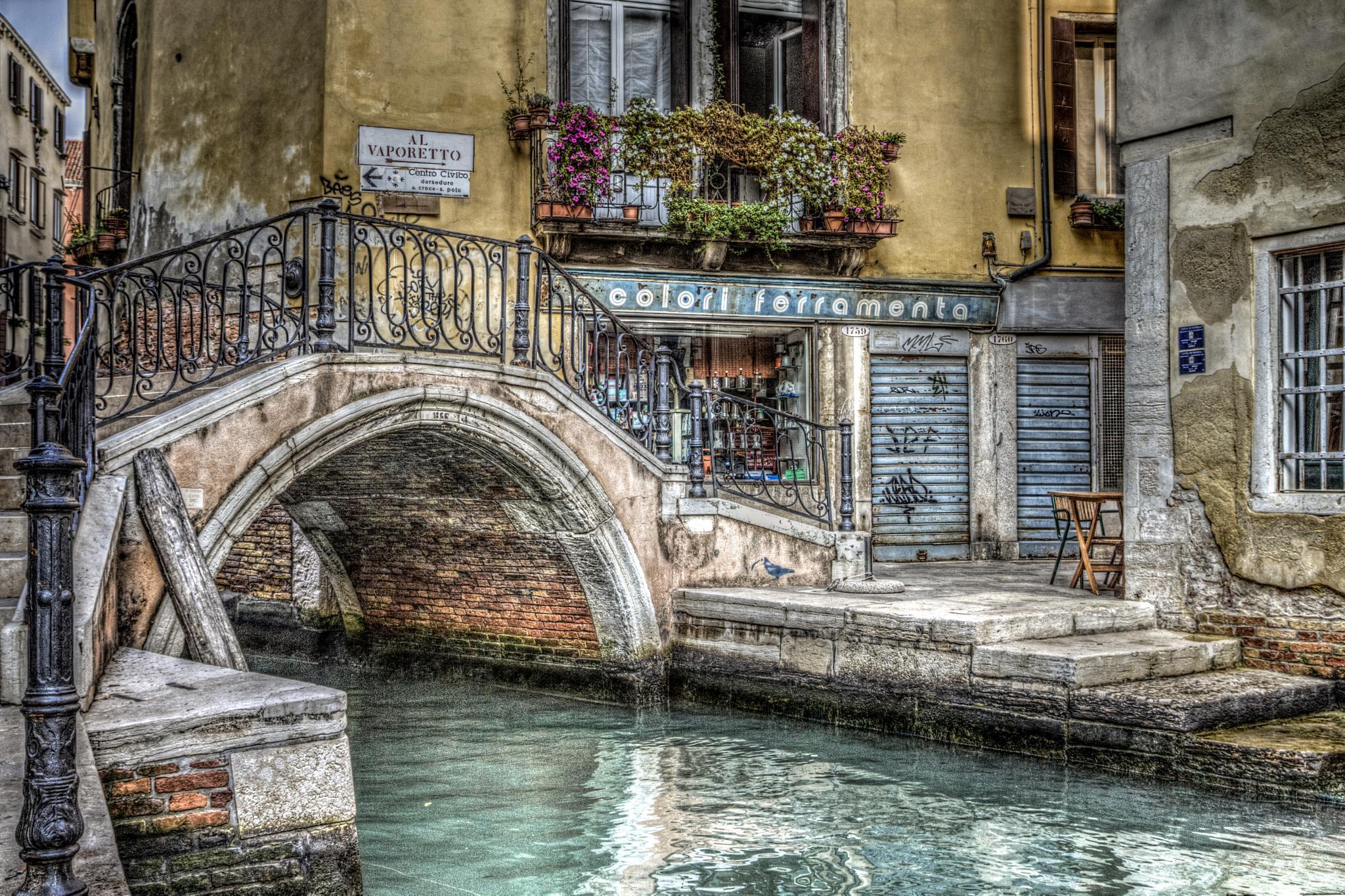 Photo in Urban #venezia #bridge #canal #italy