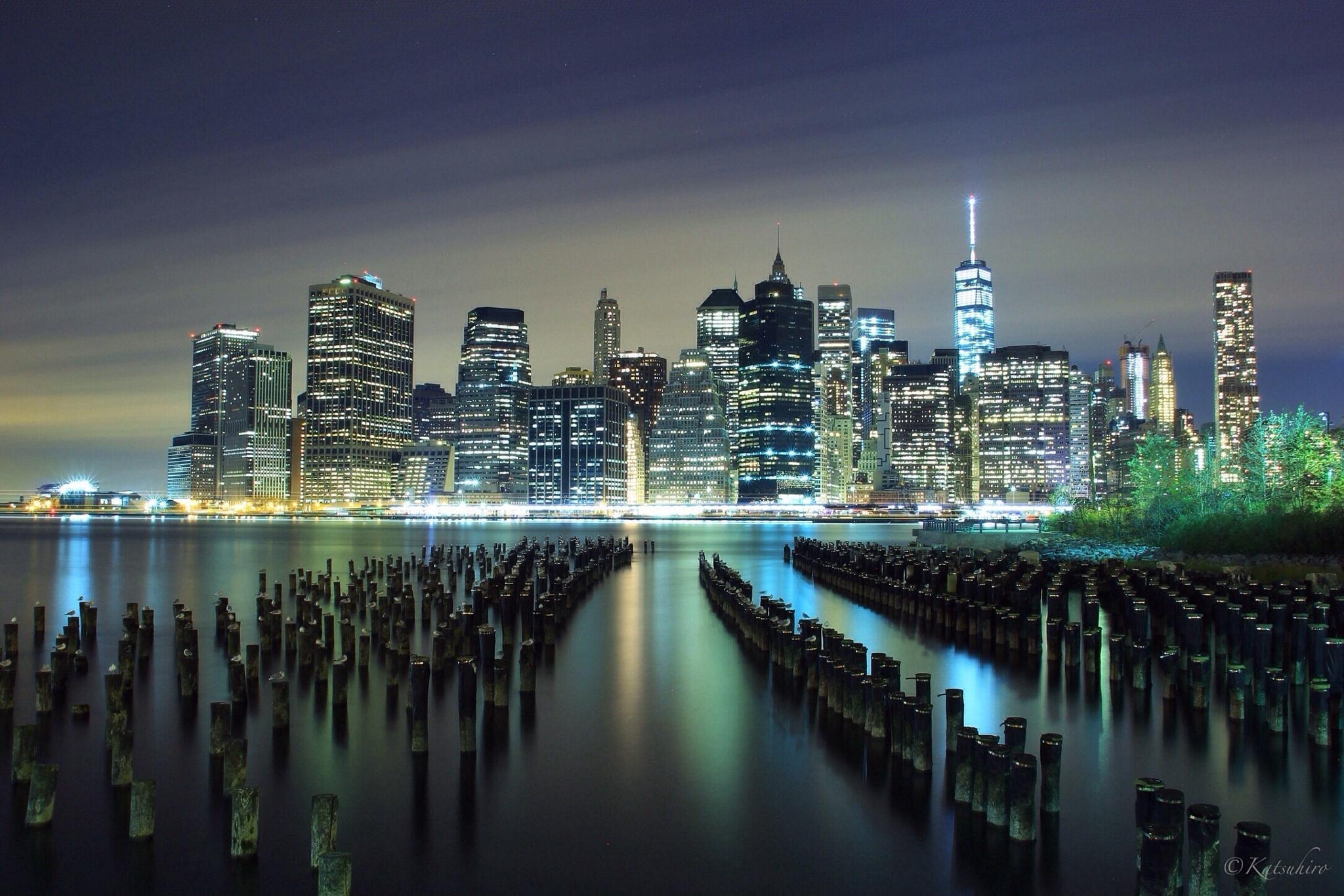 the night city by Katsuhiro Kaneko