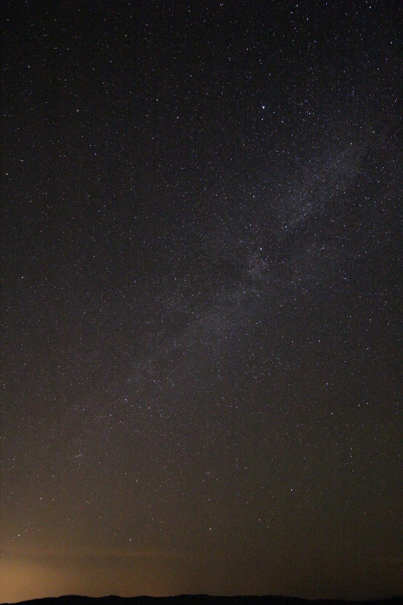Photo in Landscape #mountain #stars #night #light