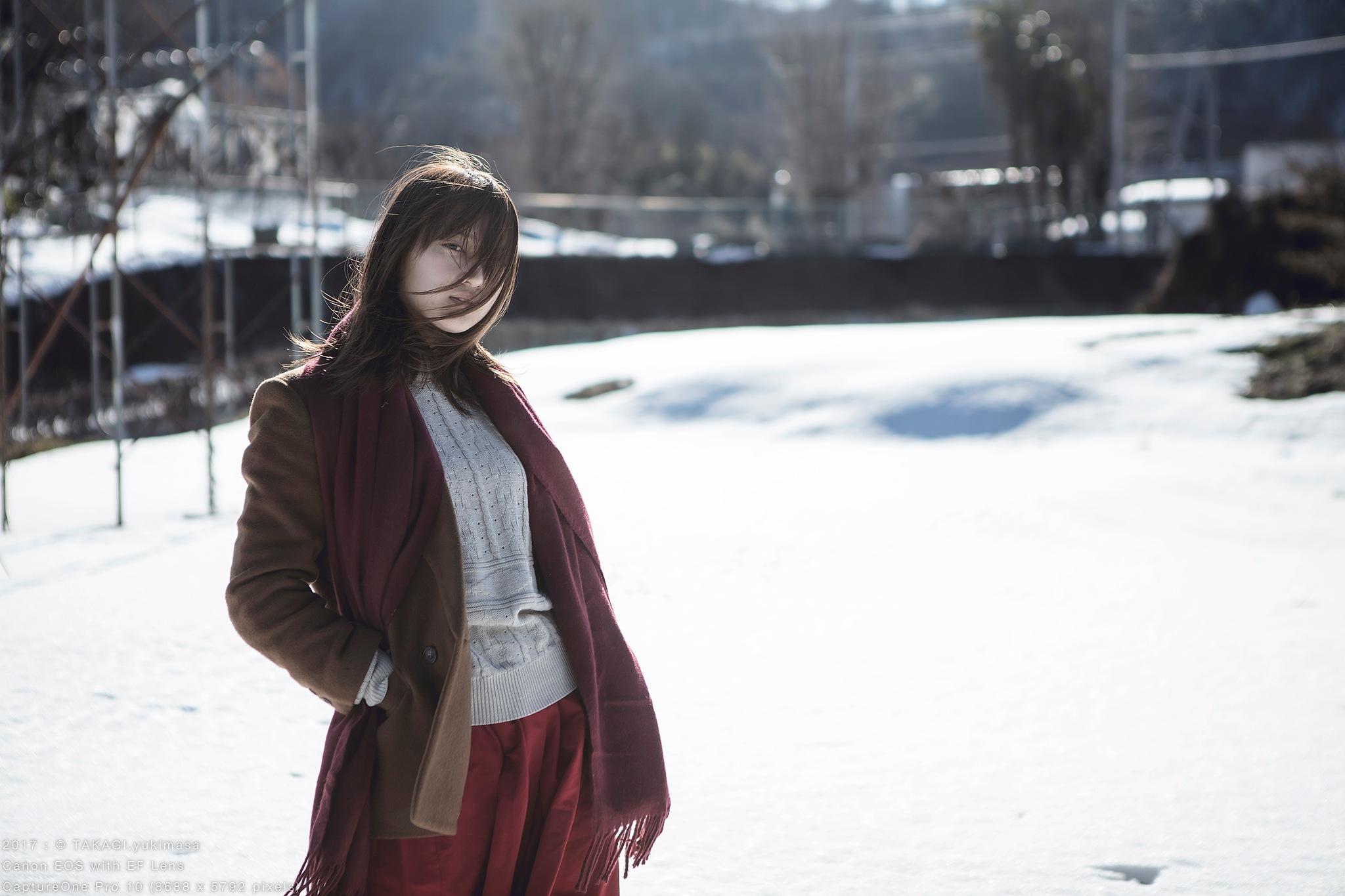 Snowy serene time by TAKAGIyukimasa