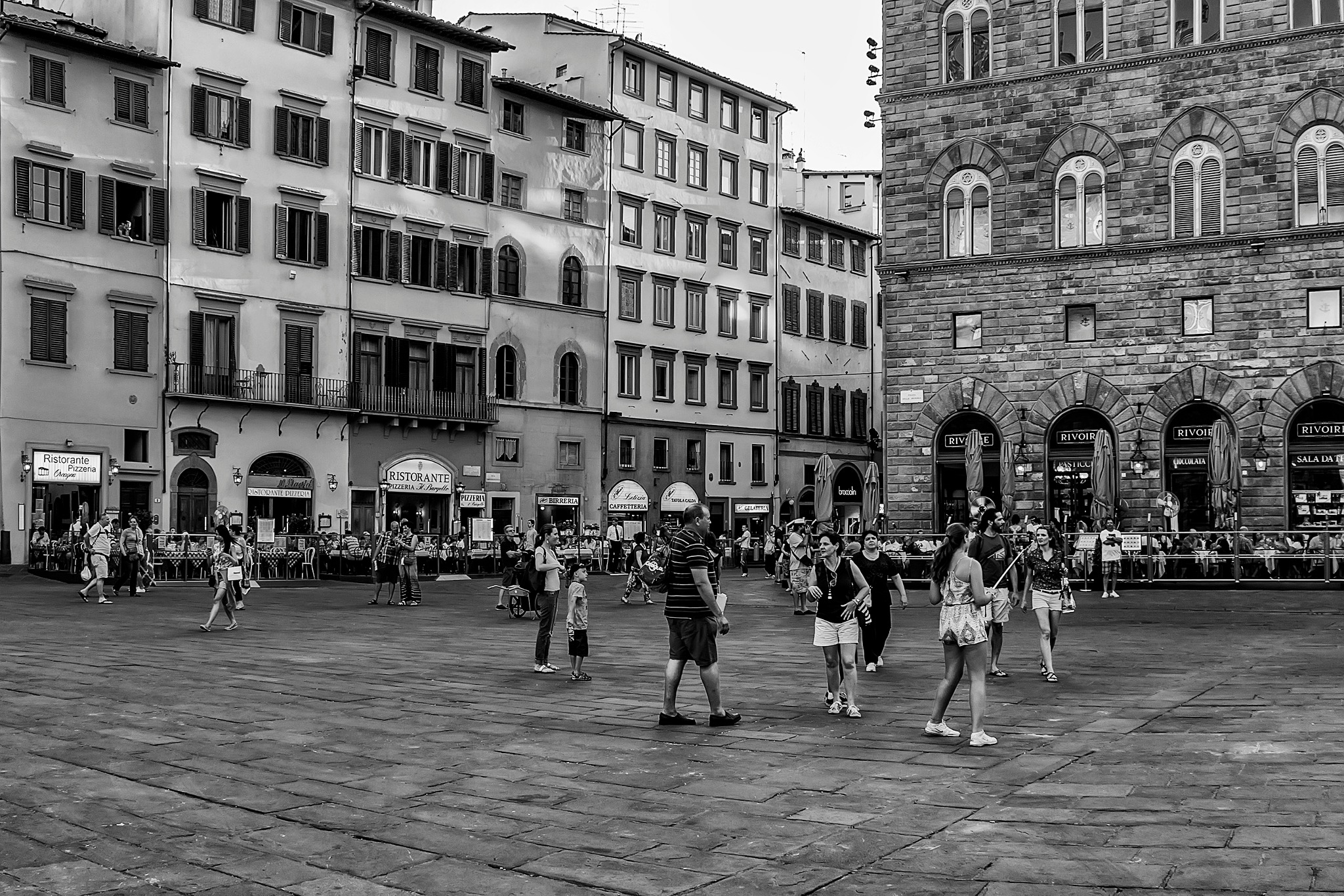 in the heart of square della signoria, florence by DANIEL F