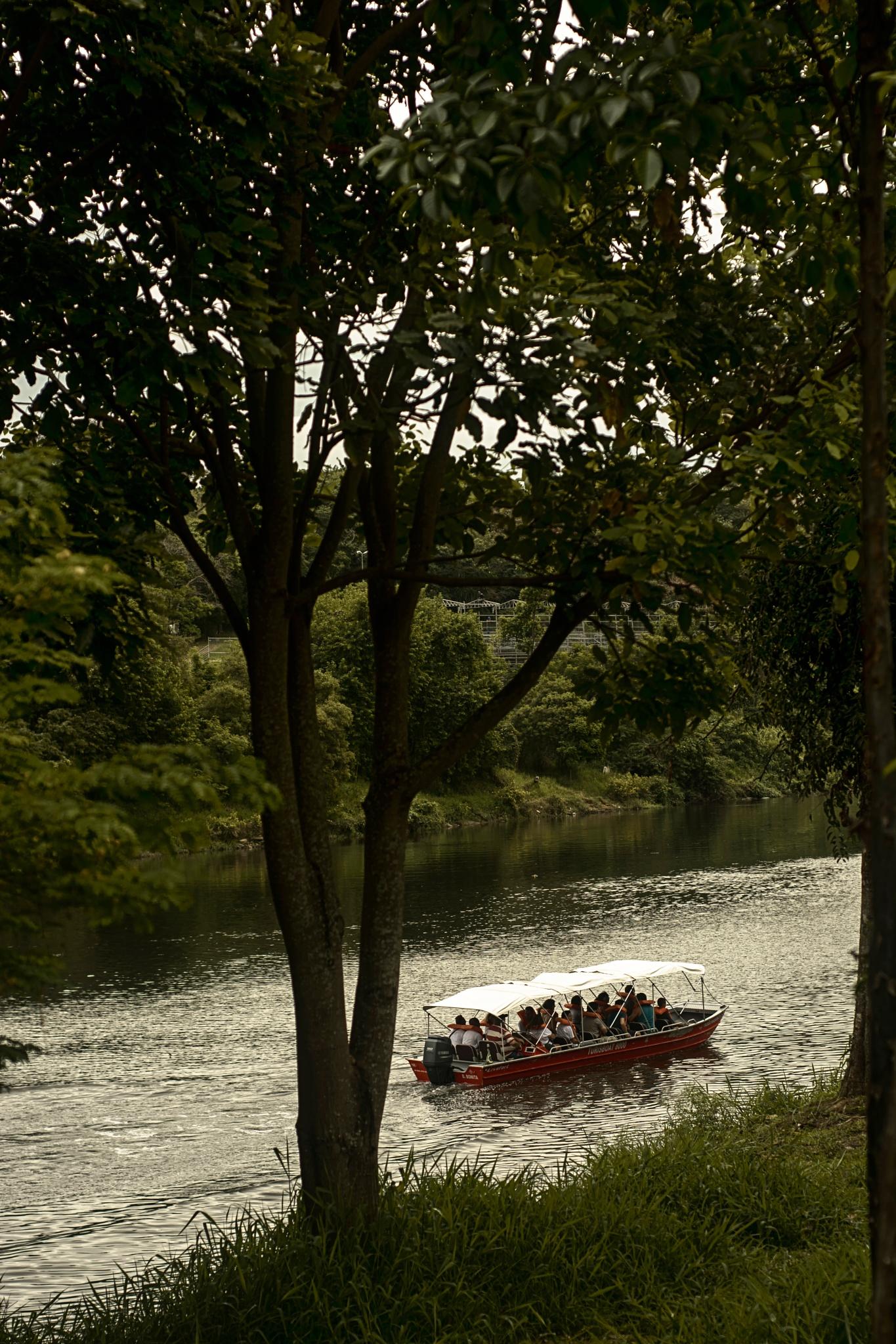 Tourist boat by Jose Liborio