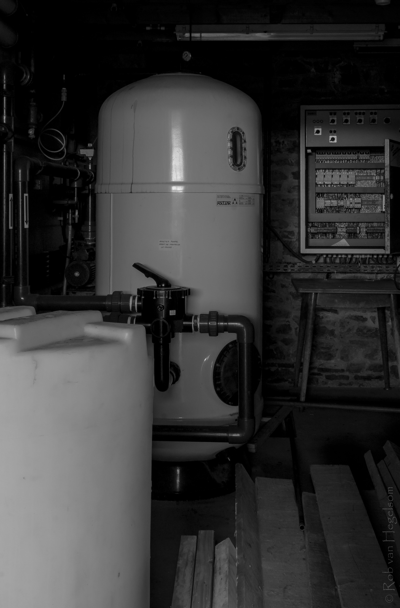 The boiler room by rvanhegelsom