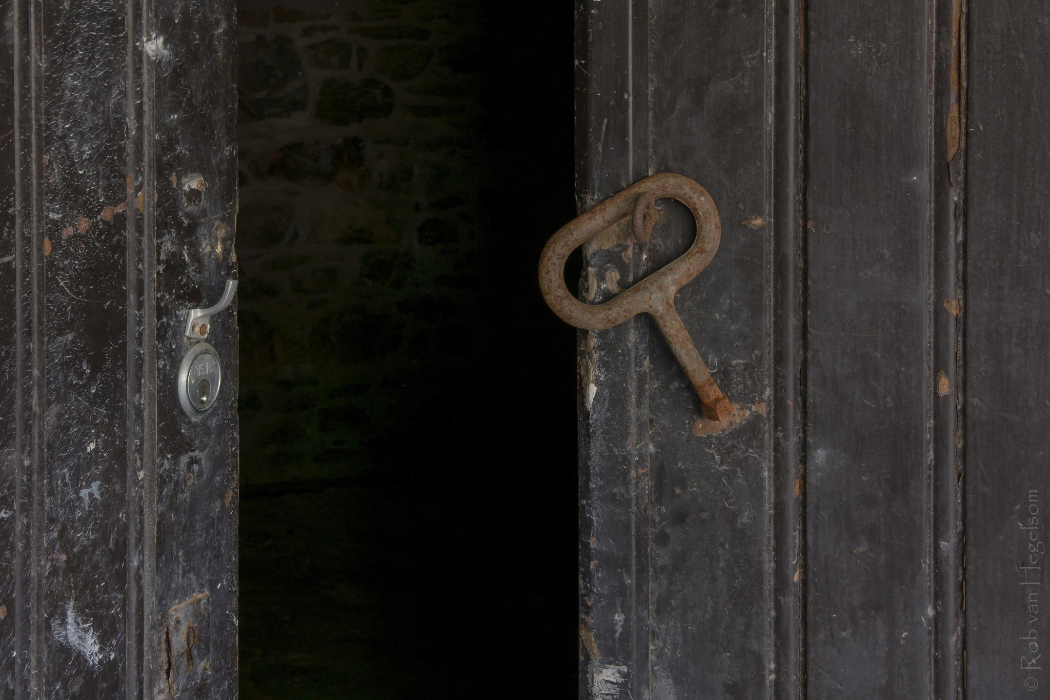 The open door by rvanhegelsom