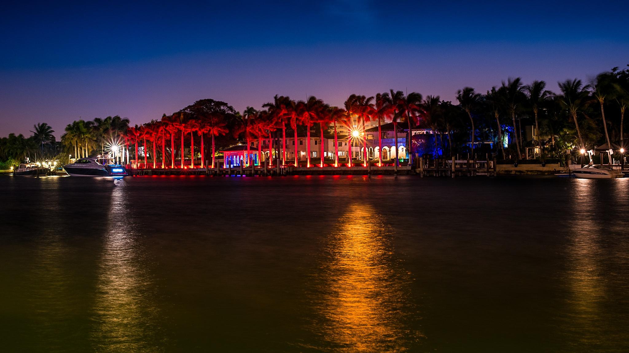 Miami by night by XavierWttrwulghe