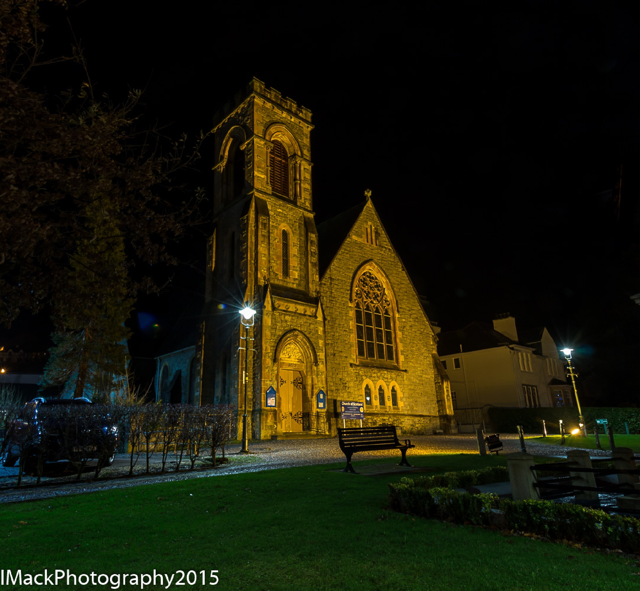 Church in early morning by Ian Mackenzie