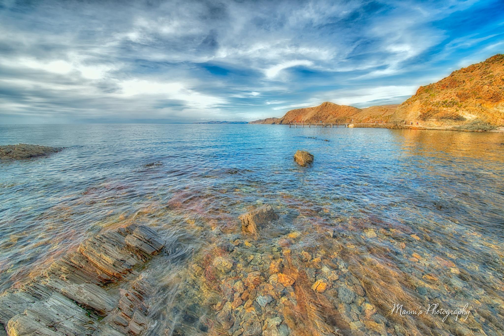 Photo in Random #sea #ocean #sky #clouds #rocks #sun