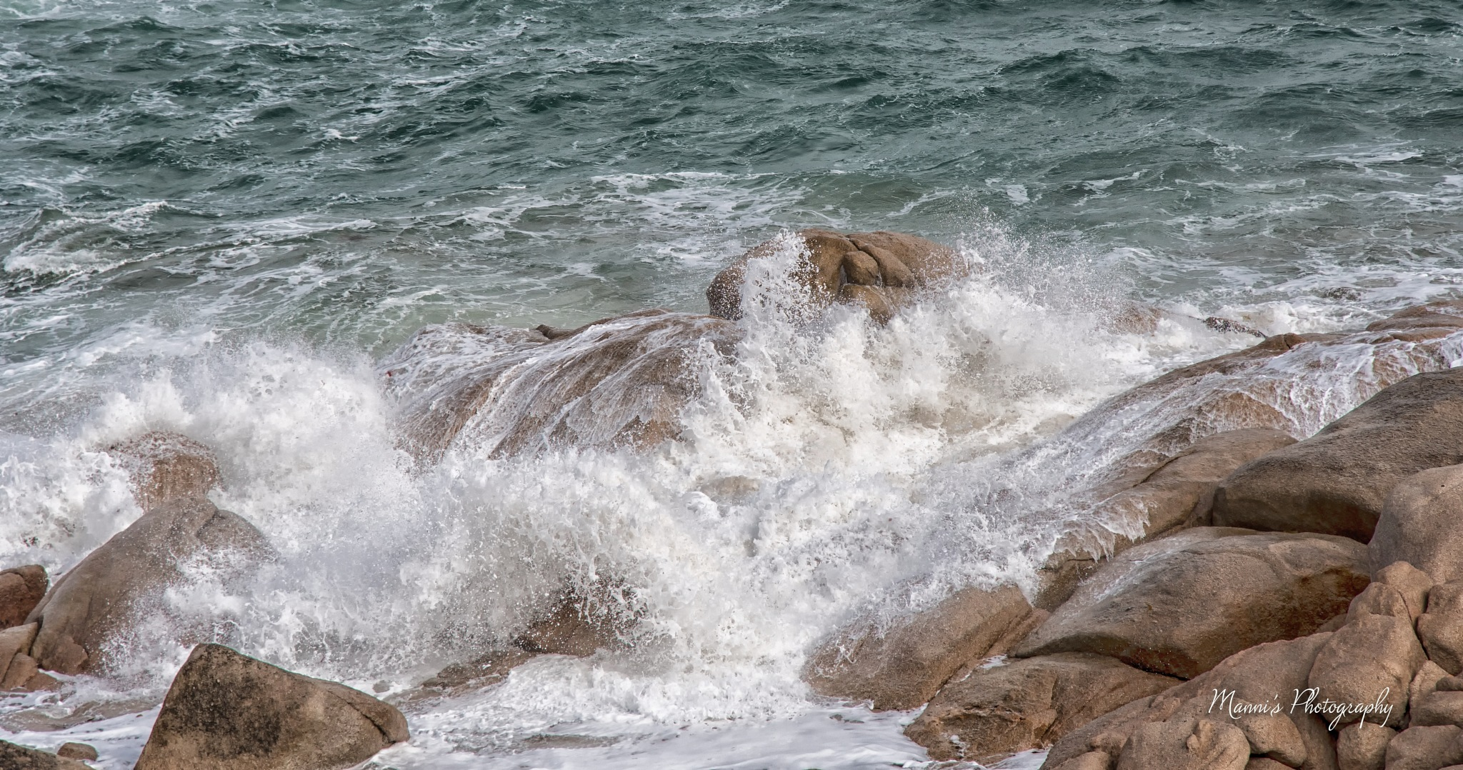 Over the Rocks by Manni