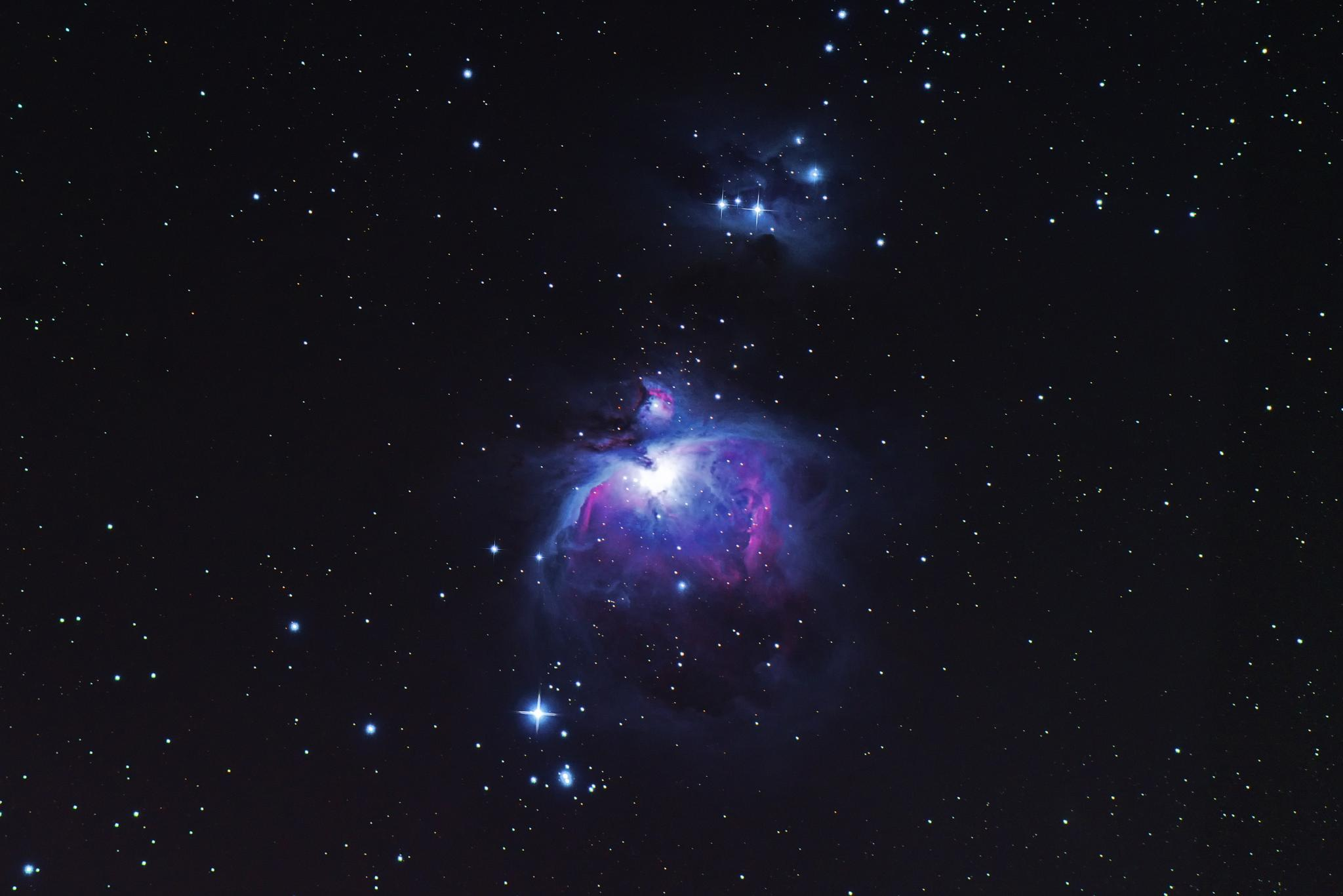 Messier M42 by mescal69