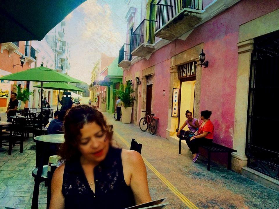 Campeche Cafe by Reid Allan Hanson
