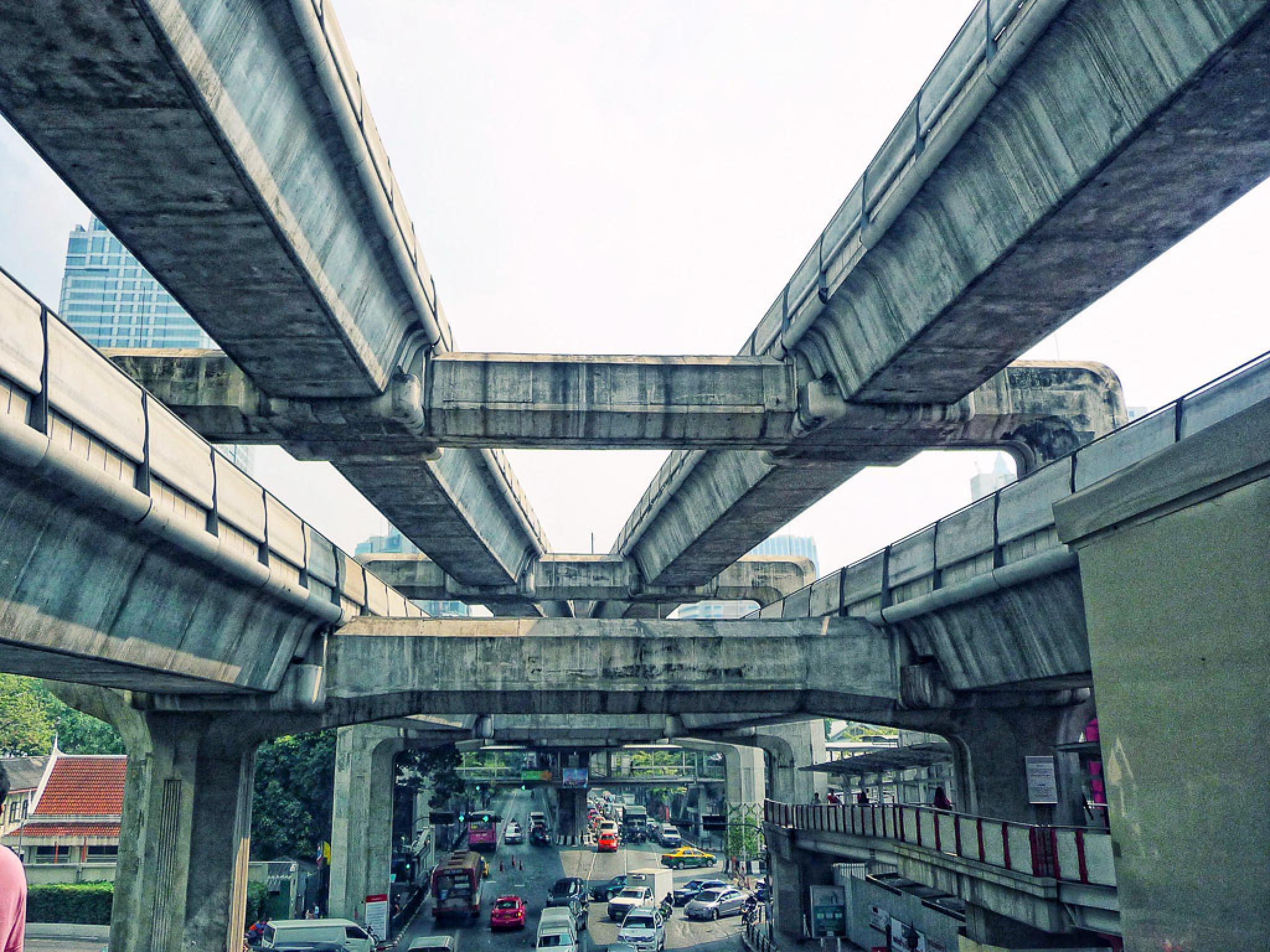 Photo in Architecture #orte #thailand #bangkok #sky train