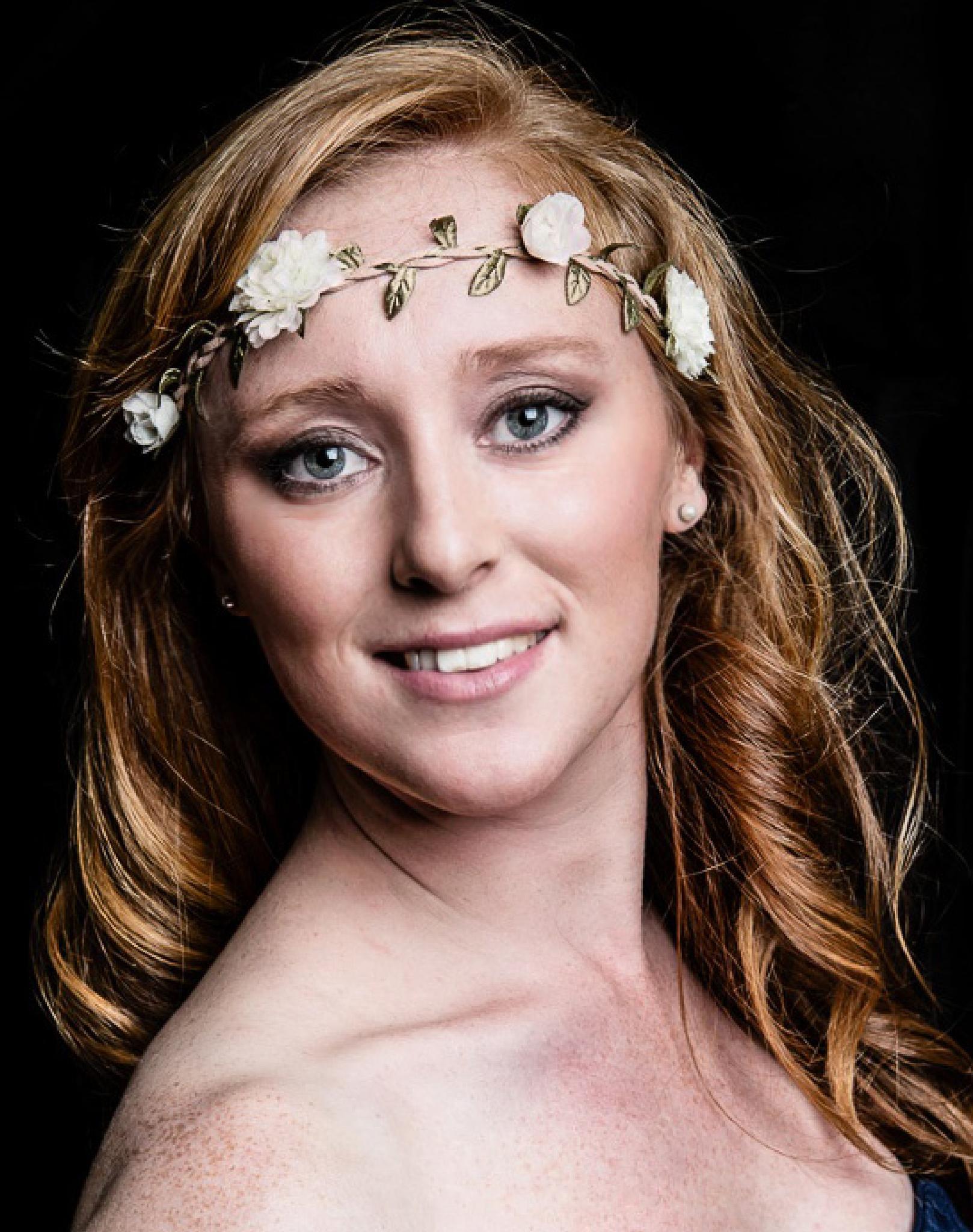 Photo in Portrait #dancer #dance #flowers #uk