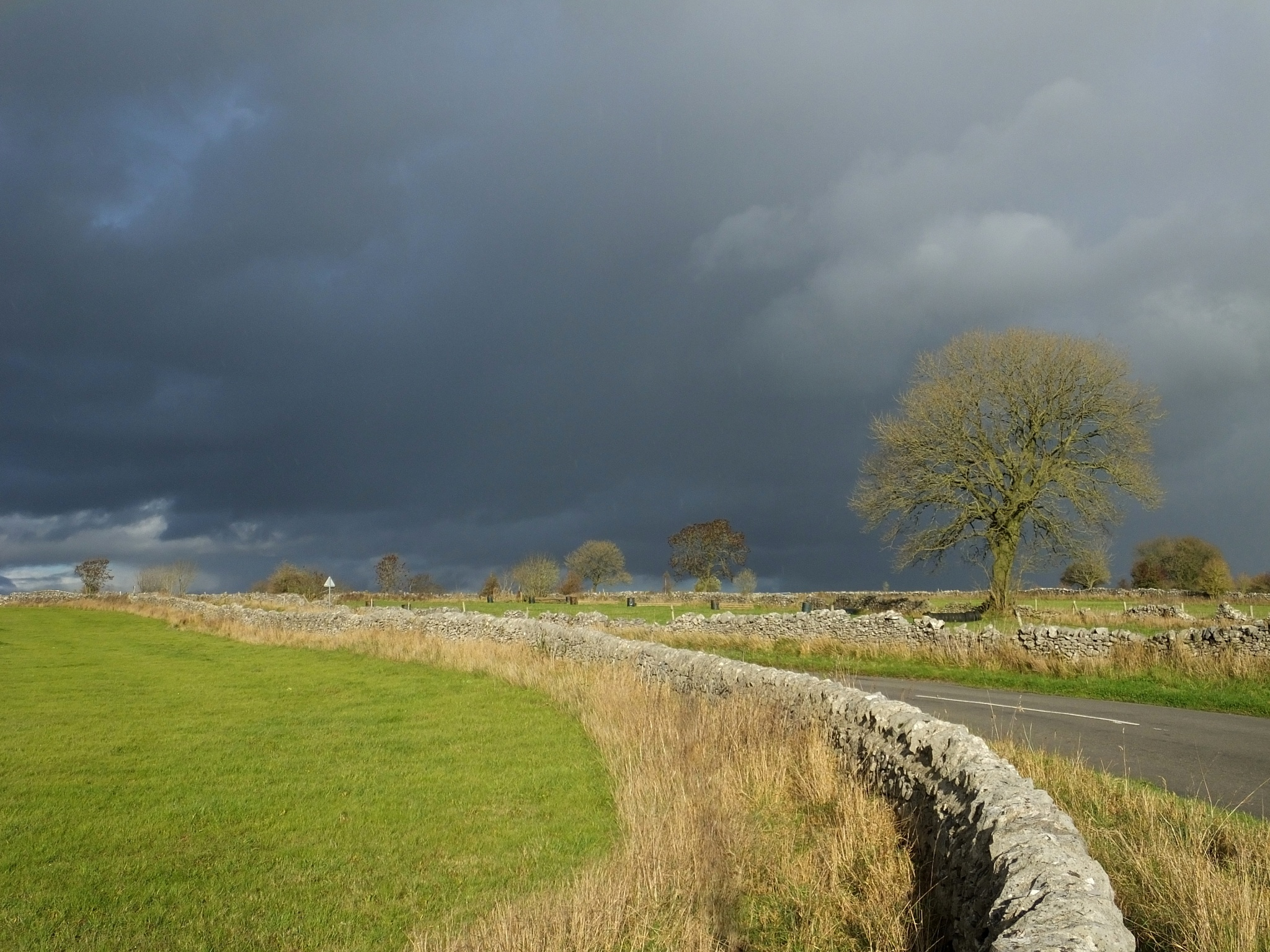 Gathering Storm Clouds by ianmoorcroft