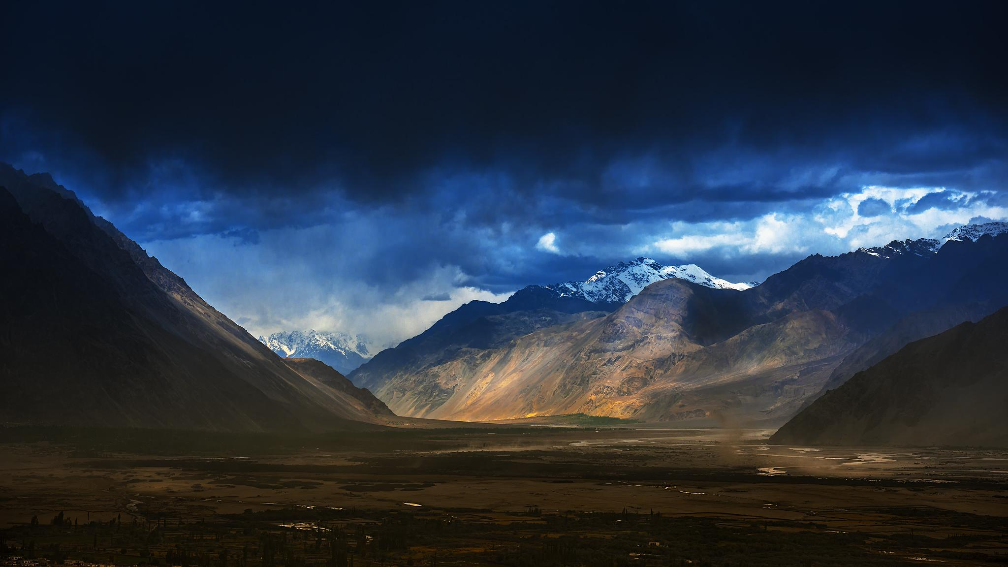 Nubra Valley by Jagjit Singh