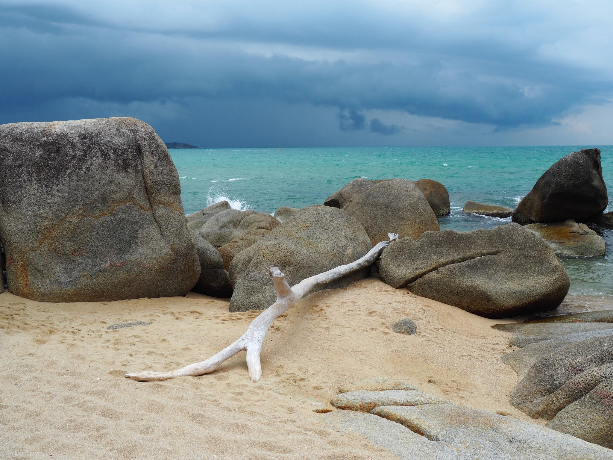 Photo in Landscape #sea #thailand #storm #sky