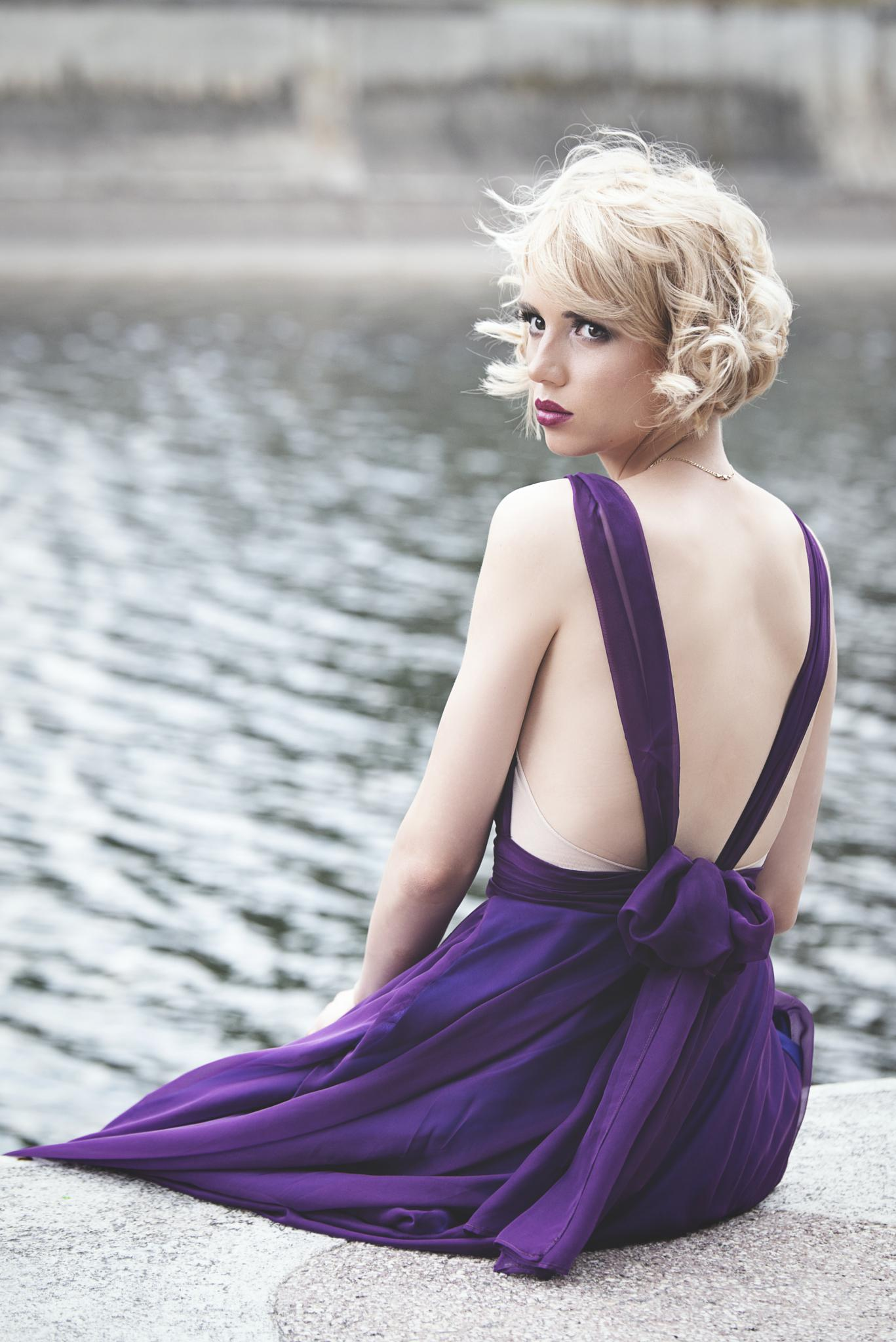 Mellon Collie Dress by Cristian Chiribuc
