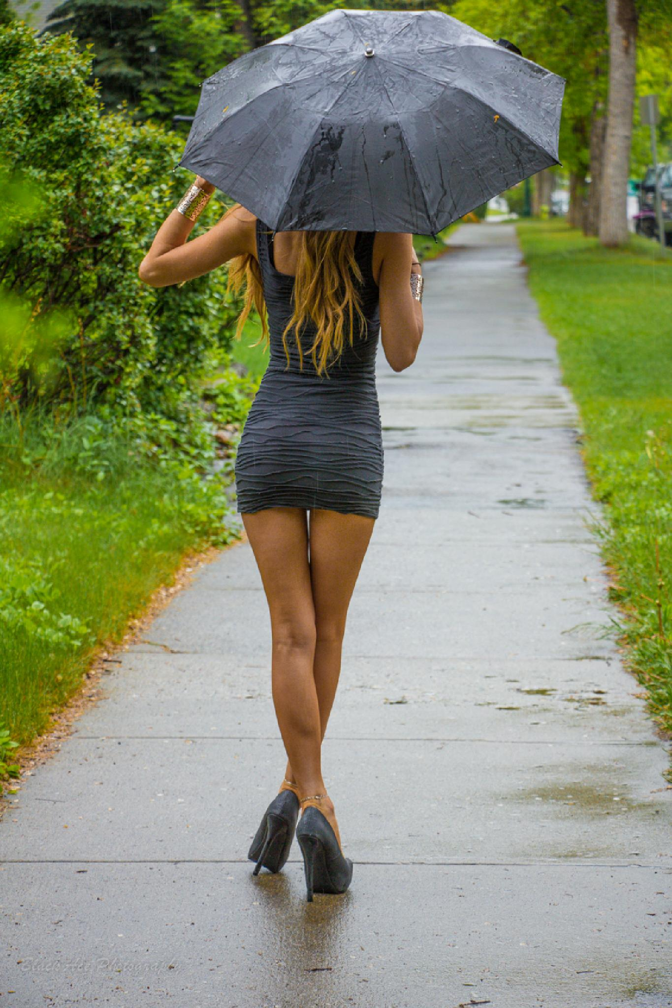 In the Rain by BlackAcePhotography