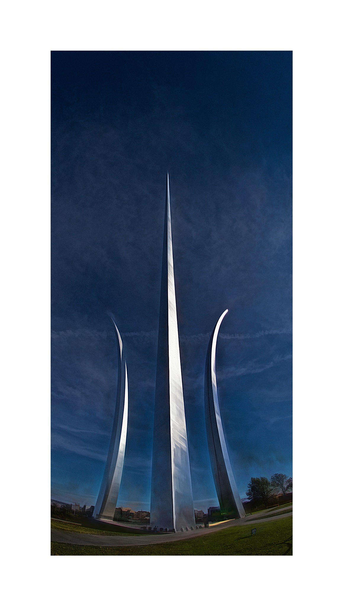 US Air Force Memorial 5 by JohnEllingson