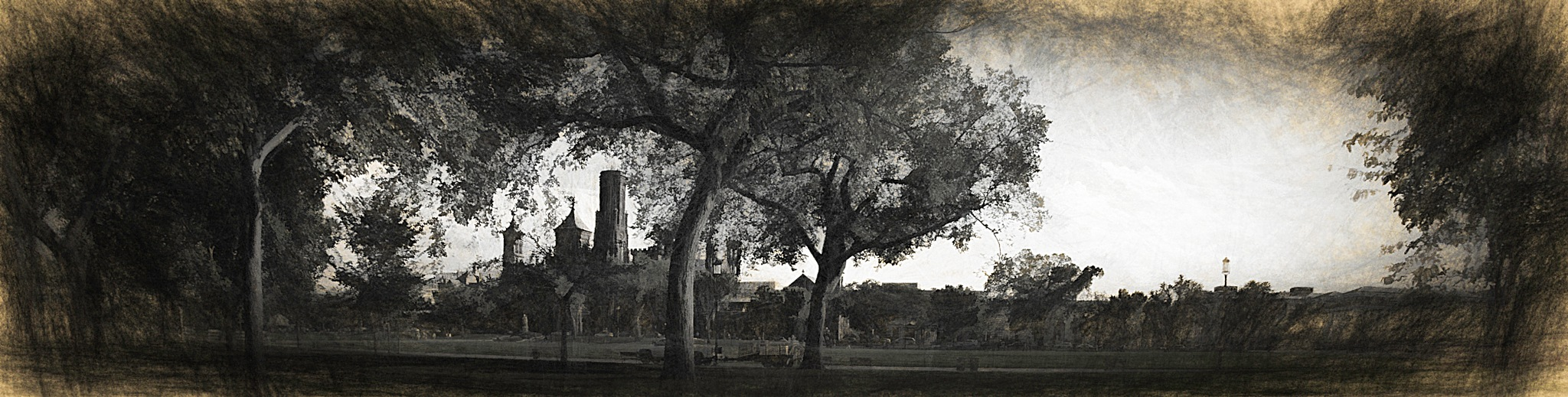 The Smithsonian Castle by JohnEllingson