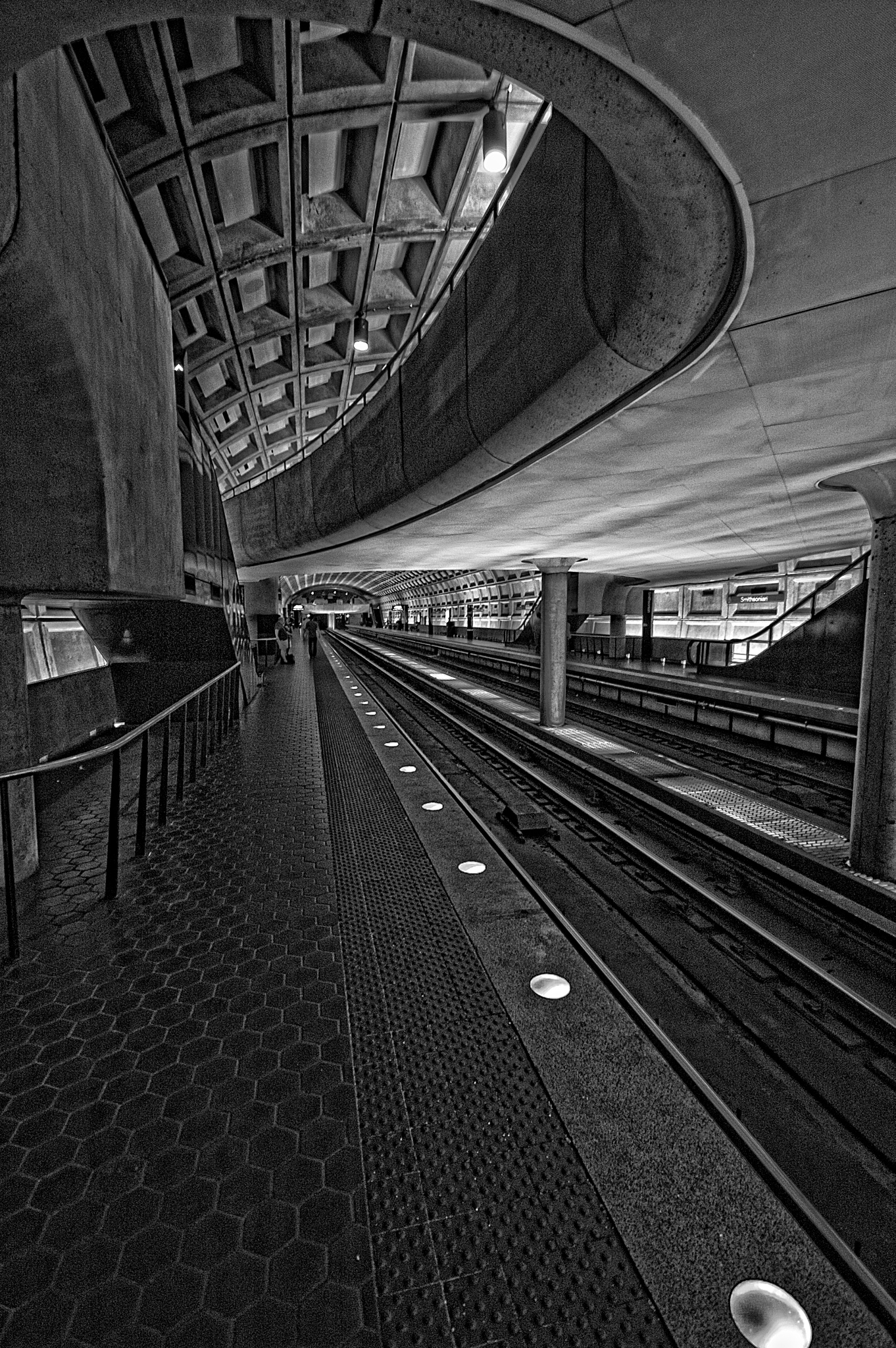 Metro Station by JohnEllingson