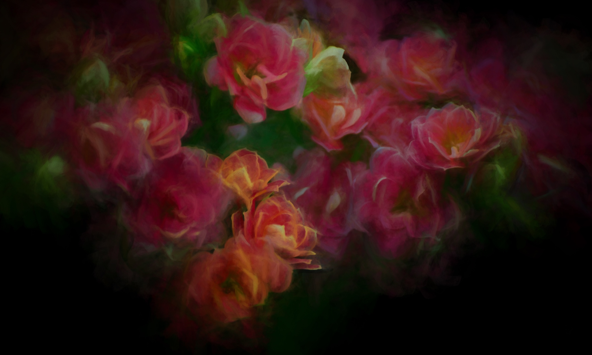 Fantasy with Flowers by JohnEllingson