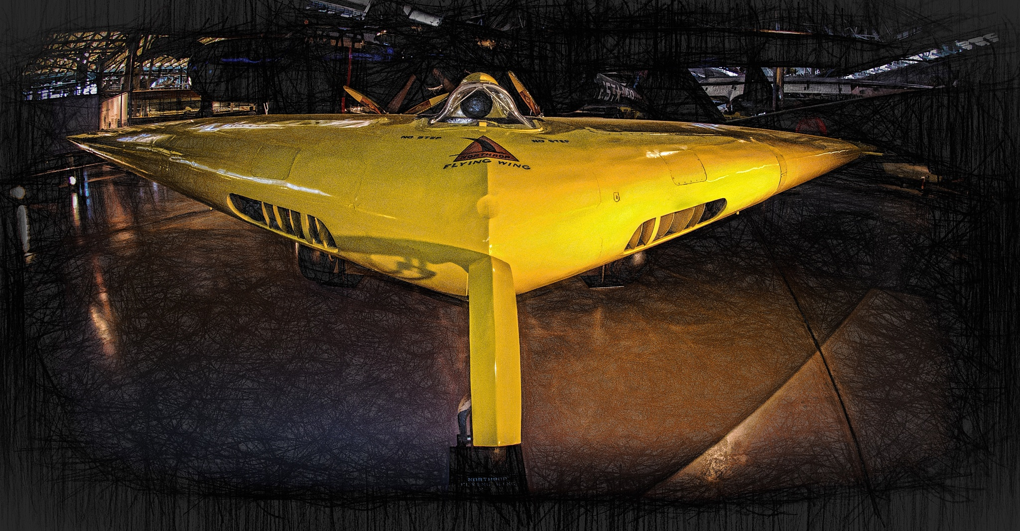 Flying Wing by JohnEllingson