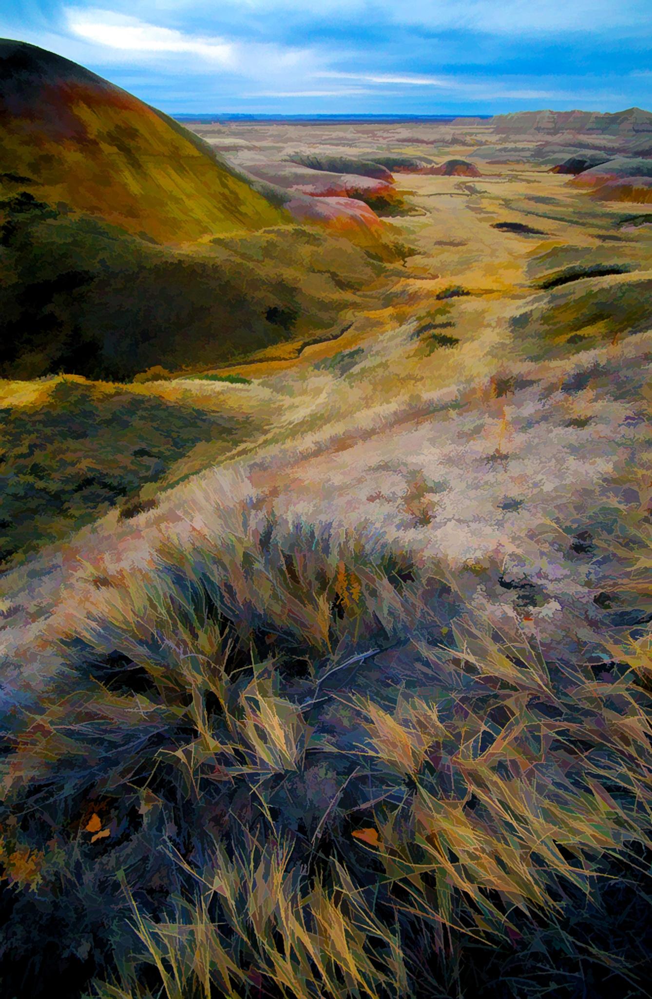 Badlands Render IV by JohnEllingson