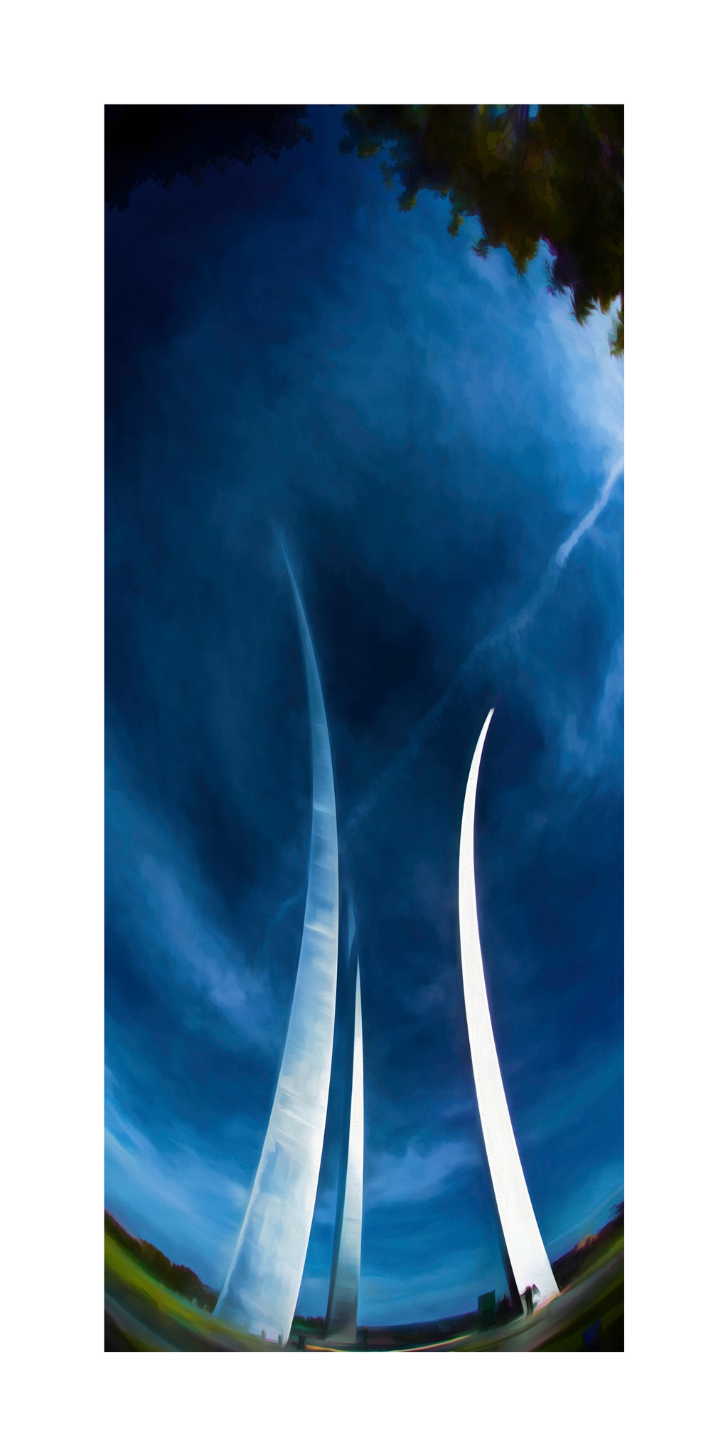 US Air Force Memorial 3 by JohnEllingson
