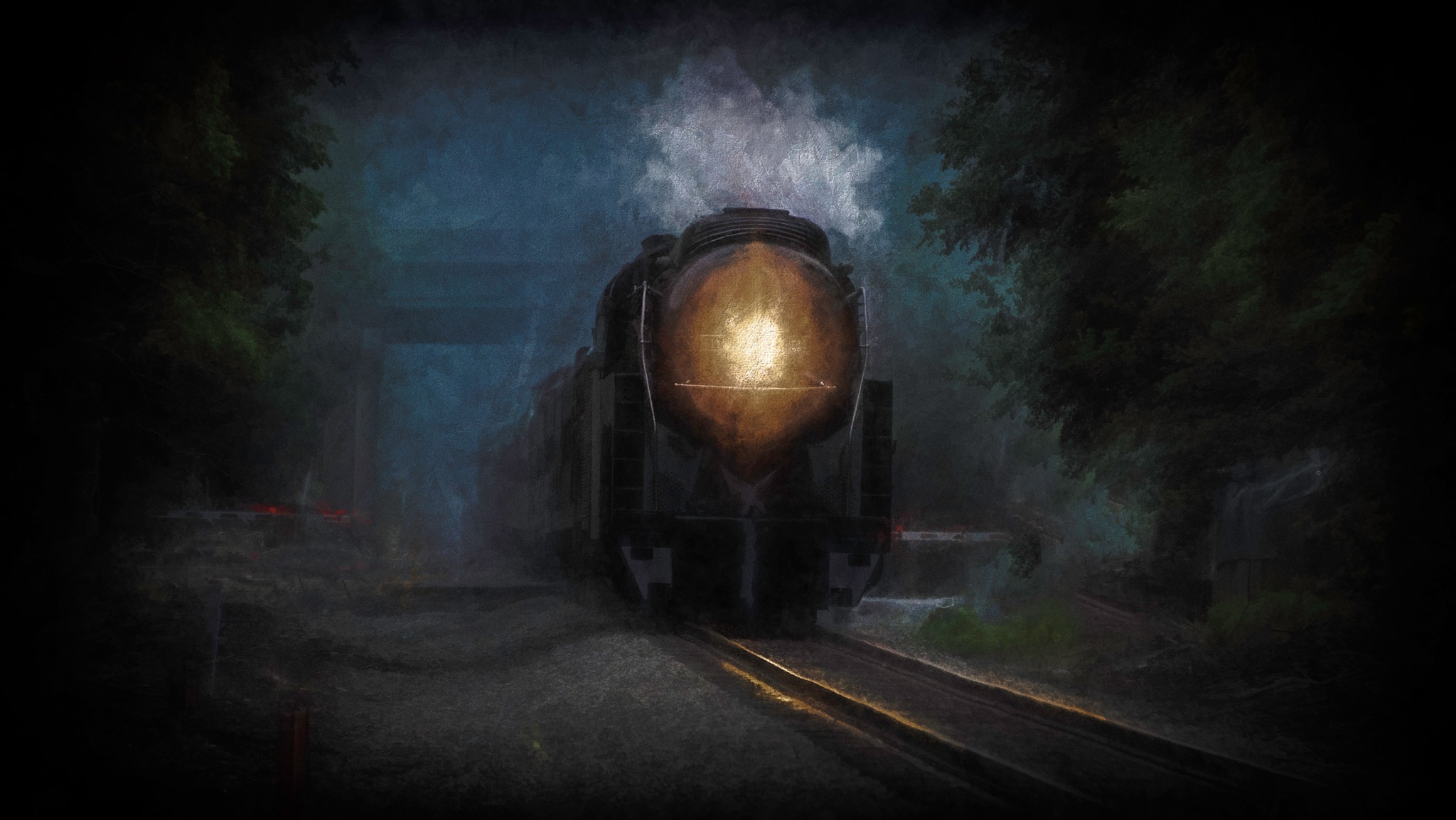 Night Train by JohnEllingson