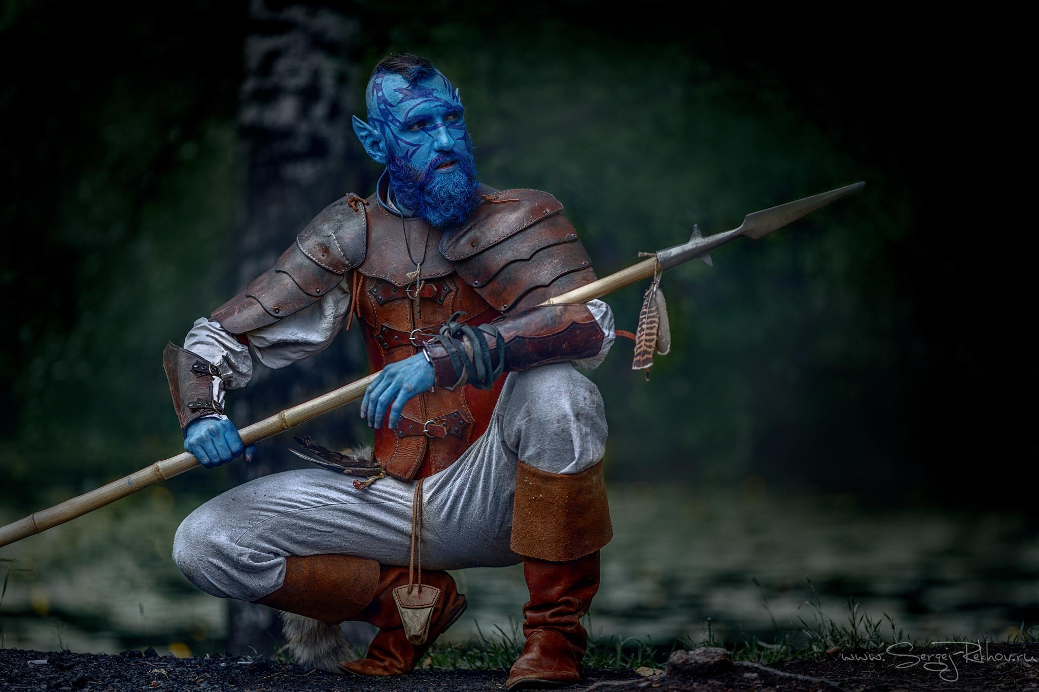 Blue Elf by Sergej  Rekhov