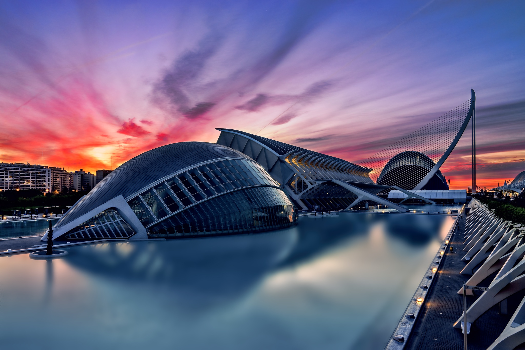 Sunrise at Valencia ... by Cris Martinez