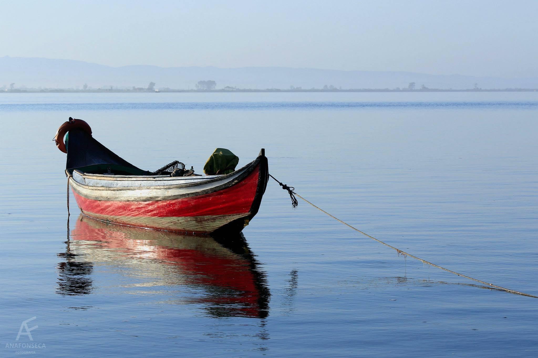 Just a boat by Ana Paula Fonseca